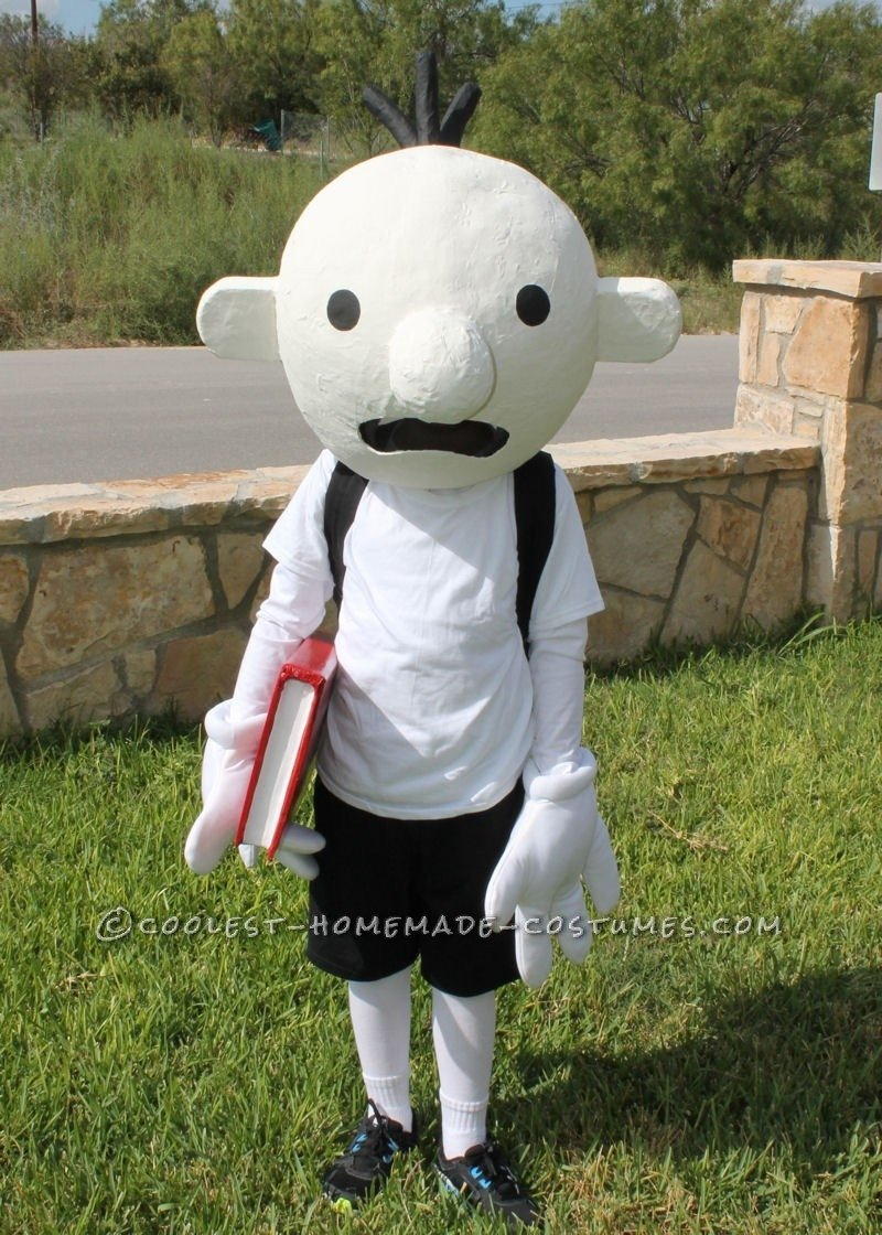 10 Gorgeous Diary Of A Wimpy Kid Costume Ideas coolest homemade costume idea diary of a wimpy kid costume wimpy 2020