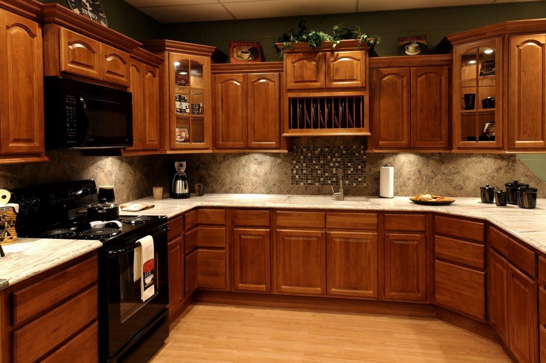 10 Fantastic Kitchen Color Ideas With Oak Cabinets coolest kitchen color ideas with oak cabinets and black appliances 2020
