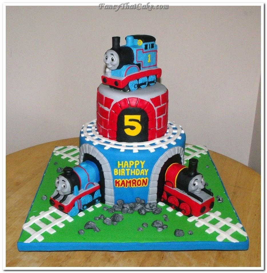 10 Amazing Thomas The Train Cakes Ideas coolest minnie mouse birthday cake 93 more at recipins thomas 1 2021
