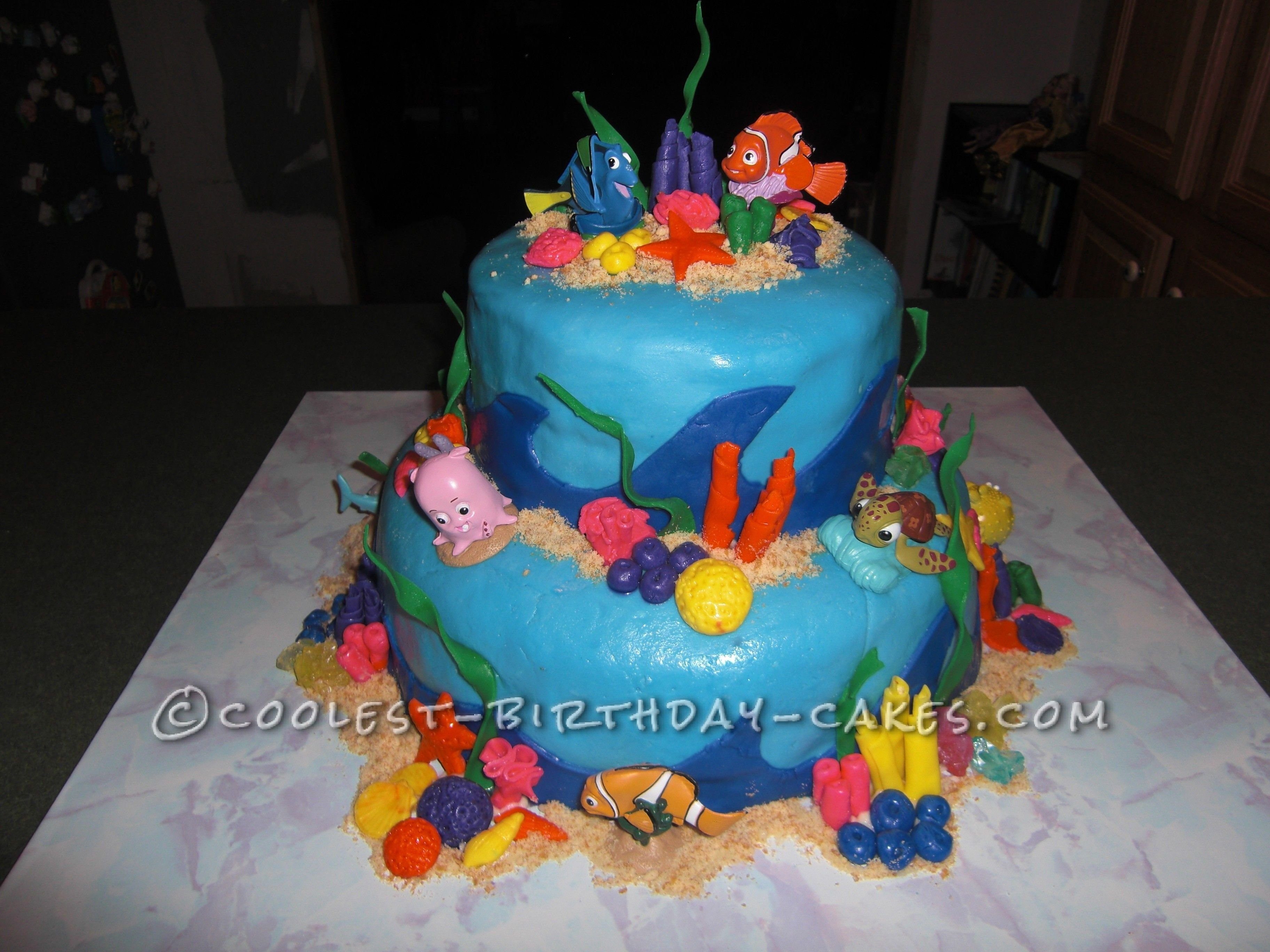 10 Fantastic 3 Year Old Birthday Cake Ideas coolest nemo birthday cake for a 3 year old boy birthday cakes