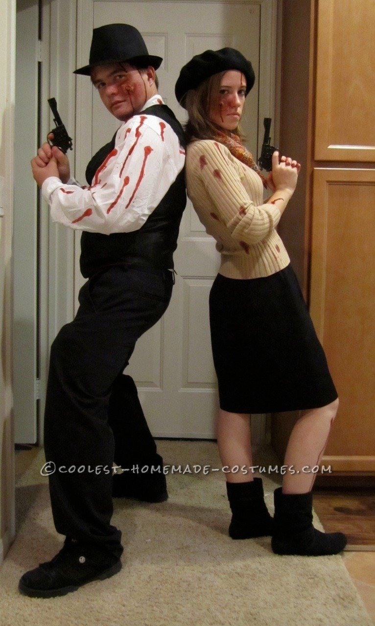 10 Most Recommended Bonnie And Clyde Costume Ideas coolest zombie bonnie and clyde couple costume costumes halloween 1 2020