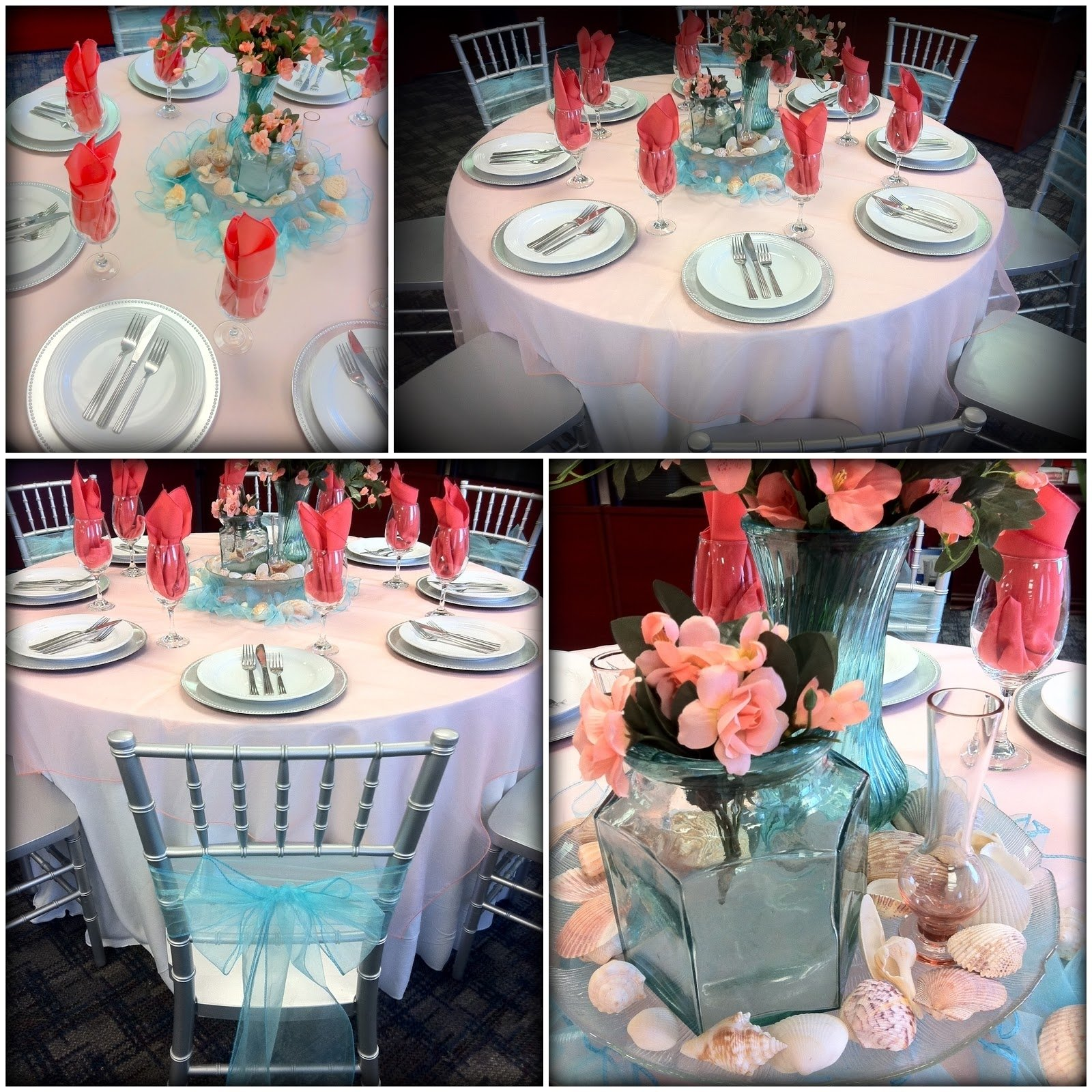 10 Trendy Coral And Teal Wedding Ideas coral and aqua decor coral and turquoise wedding ideas party 2020