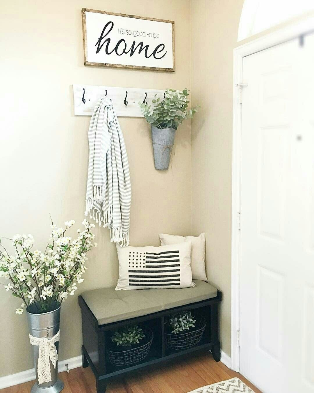 10 Most Popular Entryway Ideas For Small Spaces corner nook home decor pinterest corner nook corner and foyers 2020