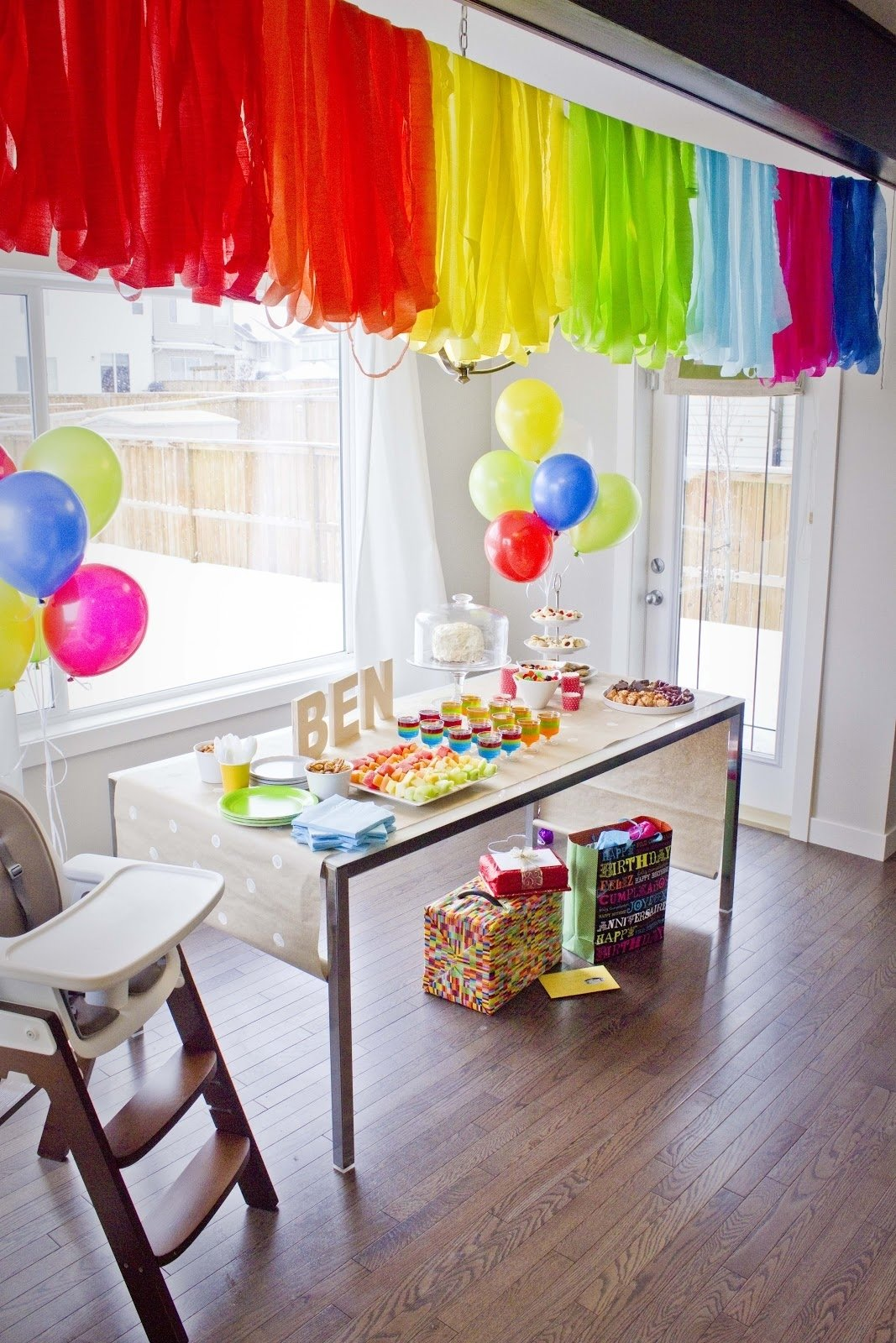 10 Beautiful Simple First Birthday Party Ideas corner orchid bens first birthday party 2021