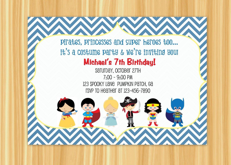 10 Unique Birthday Party Invitation Wording Ideas costume birthday party invitation wording best party ideas
