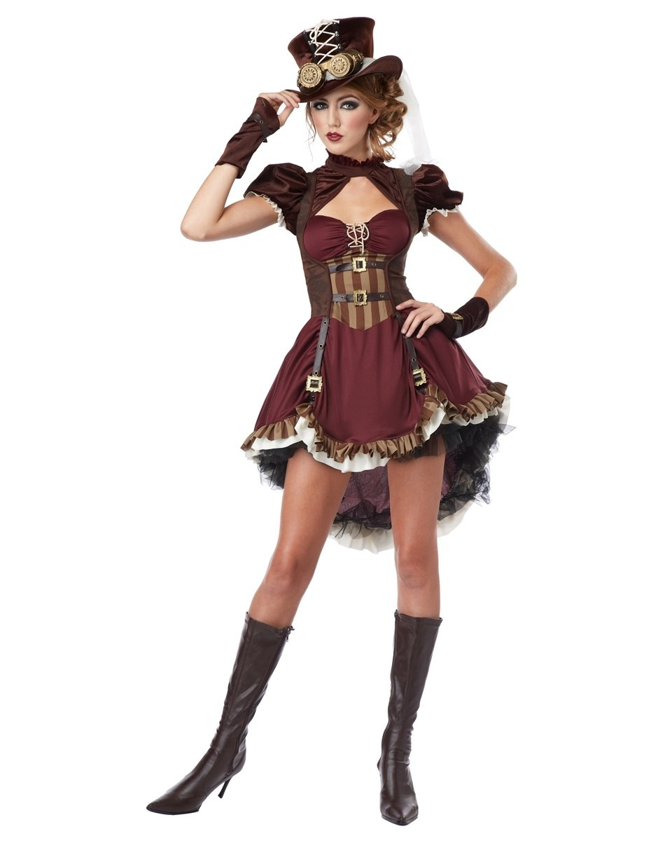 10 Fantastic Halloween Costumes For Teenage Girls Ideas costume for teen girls steampunk halloween costume girls 4