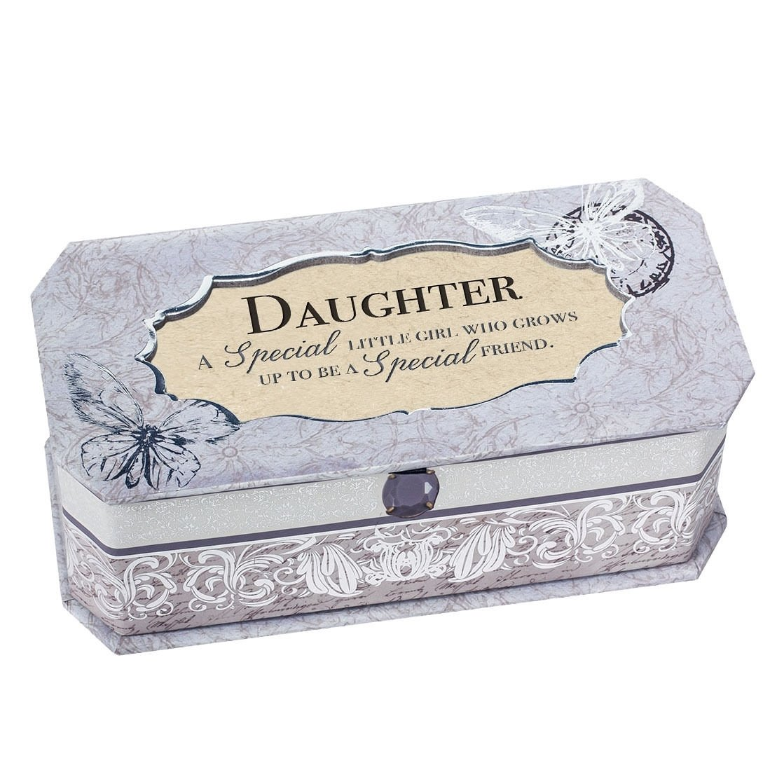 cottage garden musical jewellery box gift for daughter- special