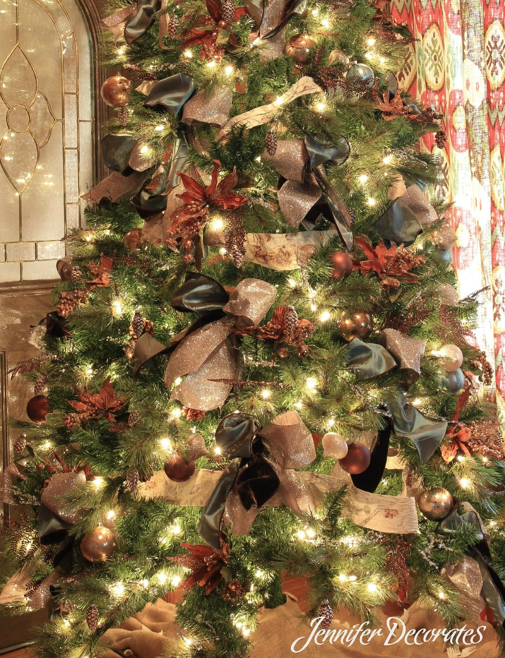 country christmas tree decorating ideas photo album home design
