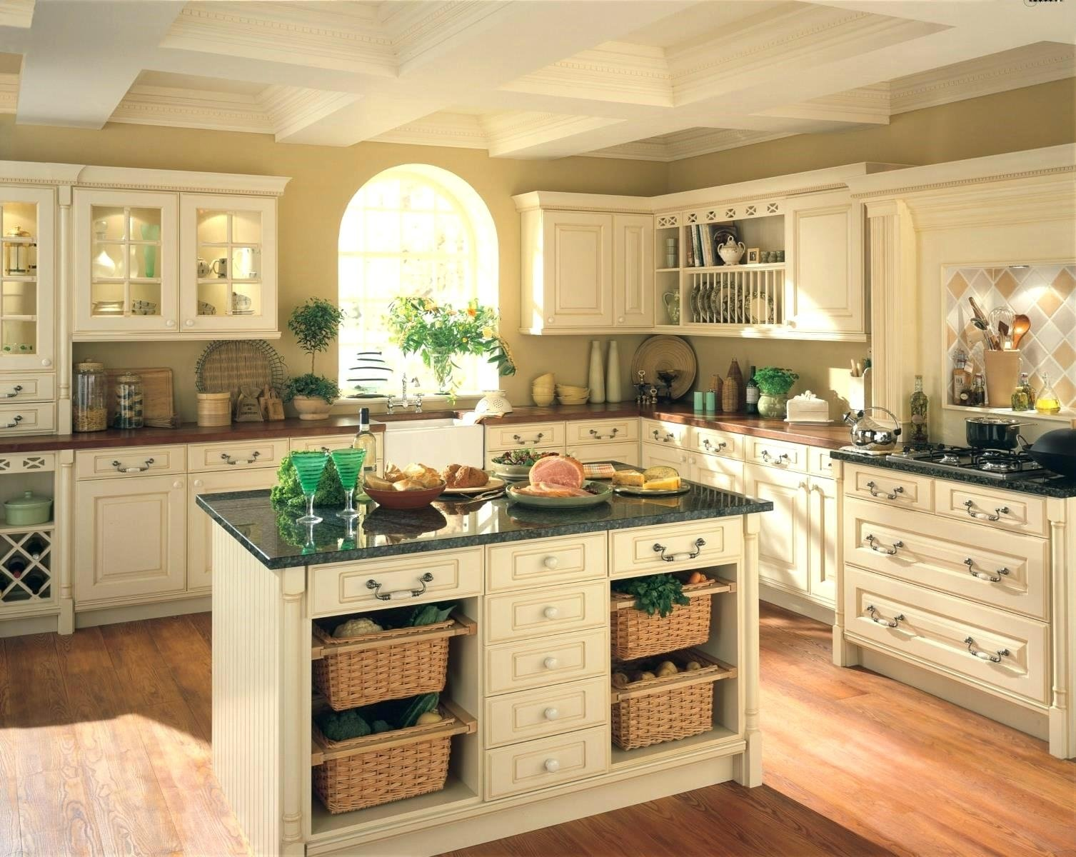 10 Most Popular Country Kitchen Decorating Ideas On A Budget country kitchen decor ideas pinterest perfect new simple cheap 2020
