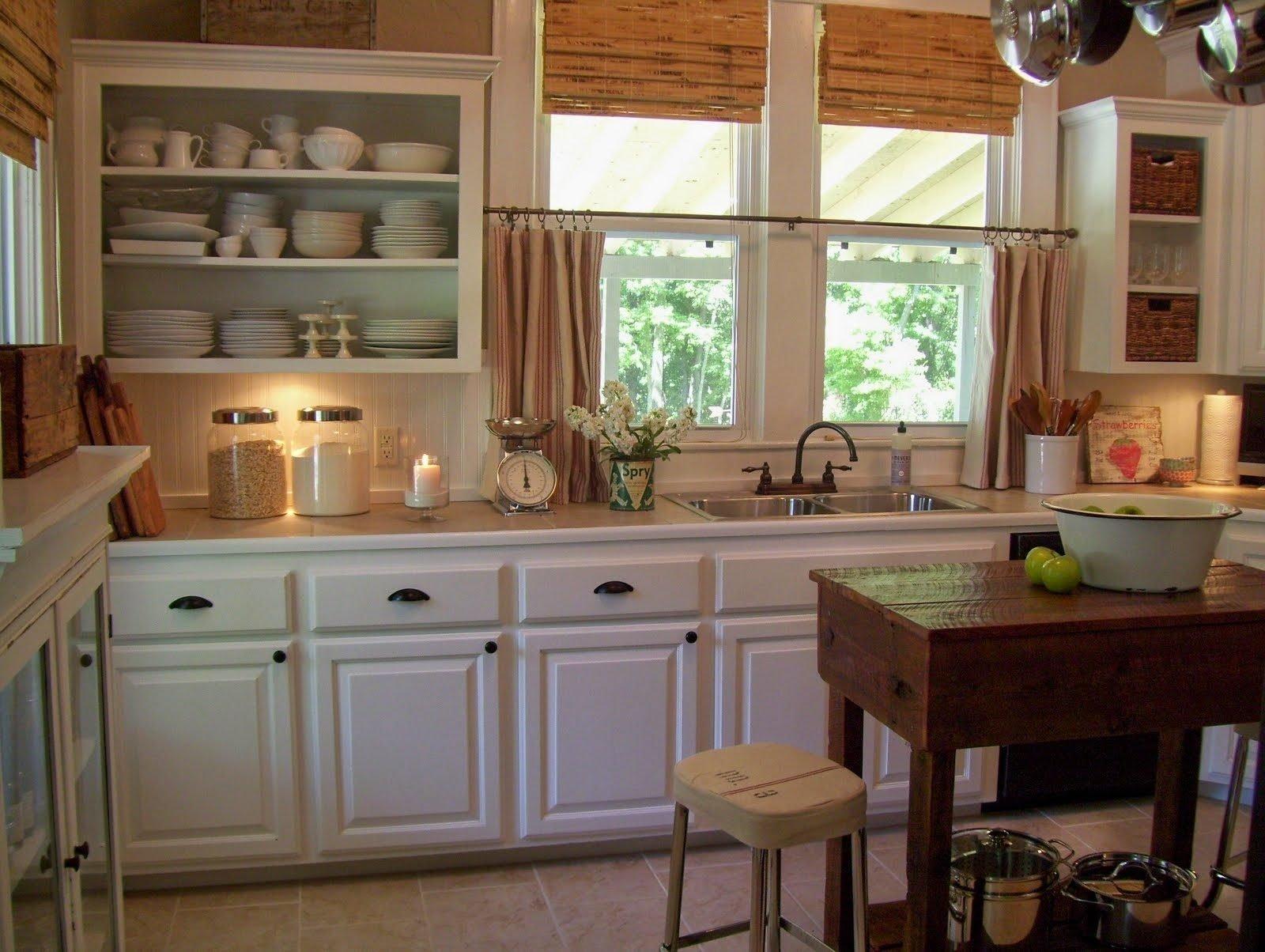 10 Most Popular Country Kitchen Decorating Ideas On A Budget country kitchen decorating ideas on a budget round white modern 2020