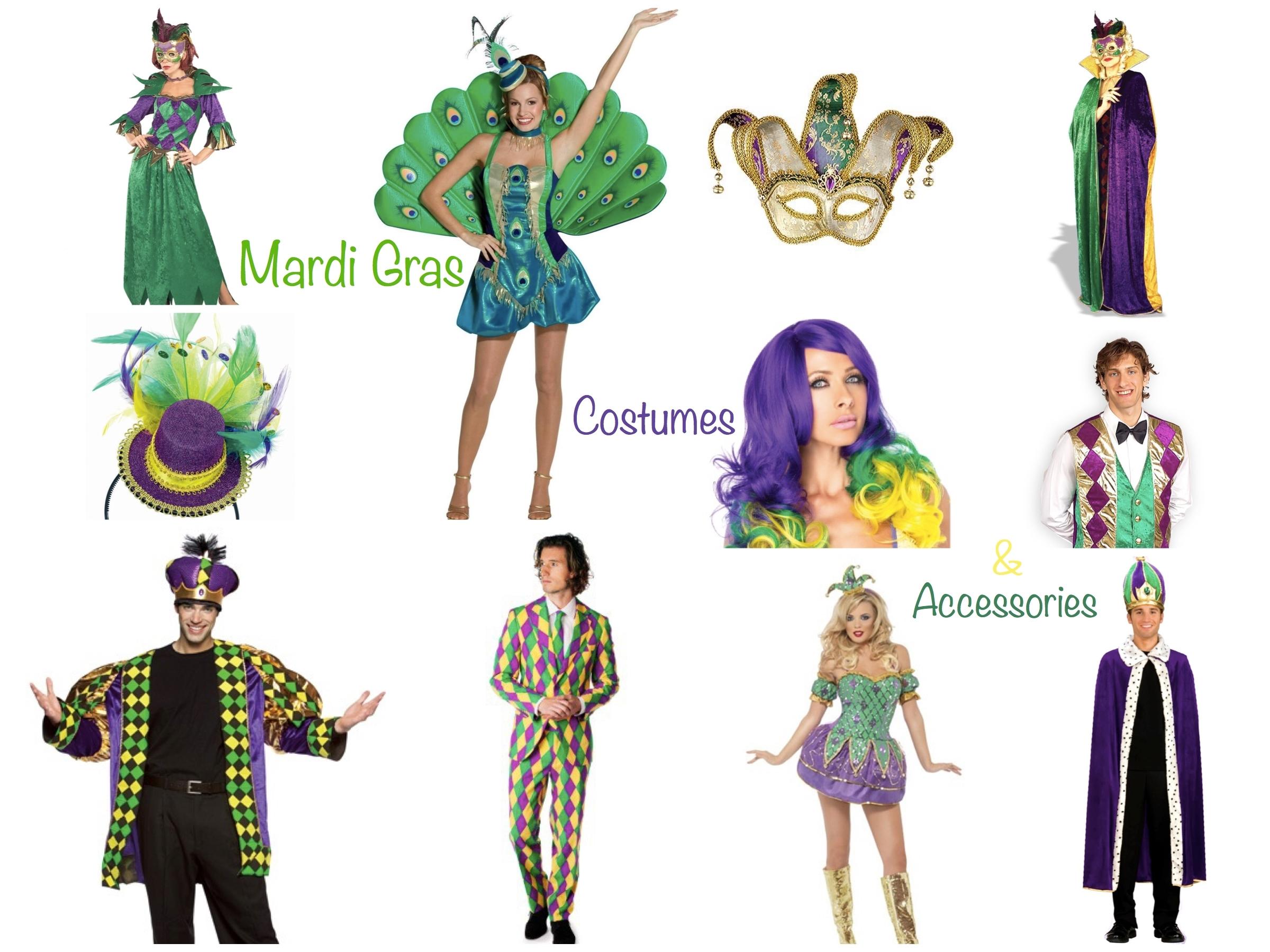 10 Attractive Homemade Mardi Gras Costume Ideas %name
