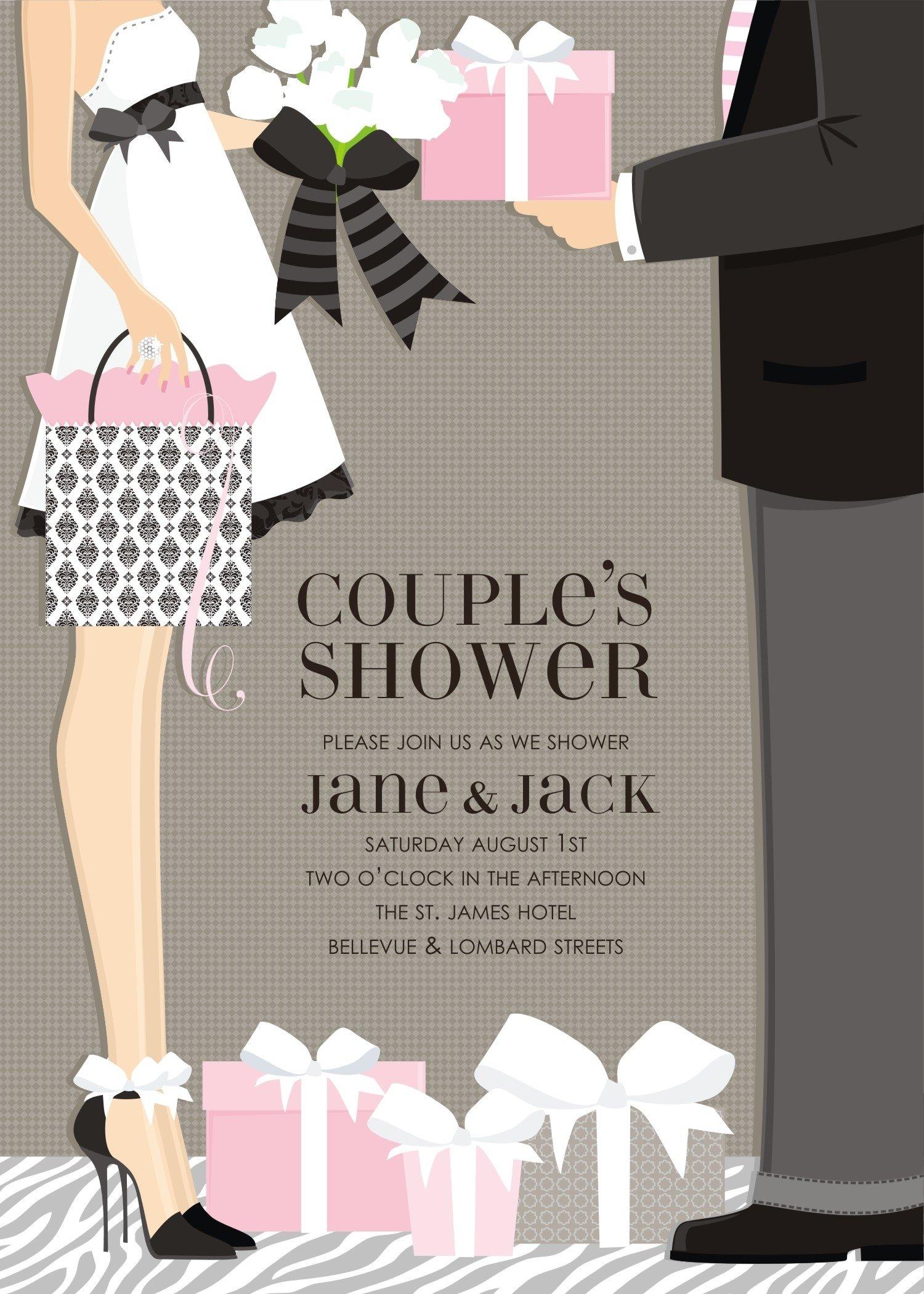 10 Unique Wedding Shower Ideas For Couples couples wedding shower invitation wording inspirational couples 2021