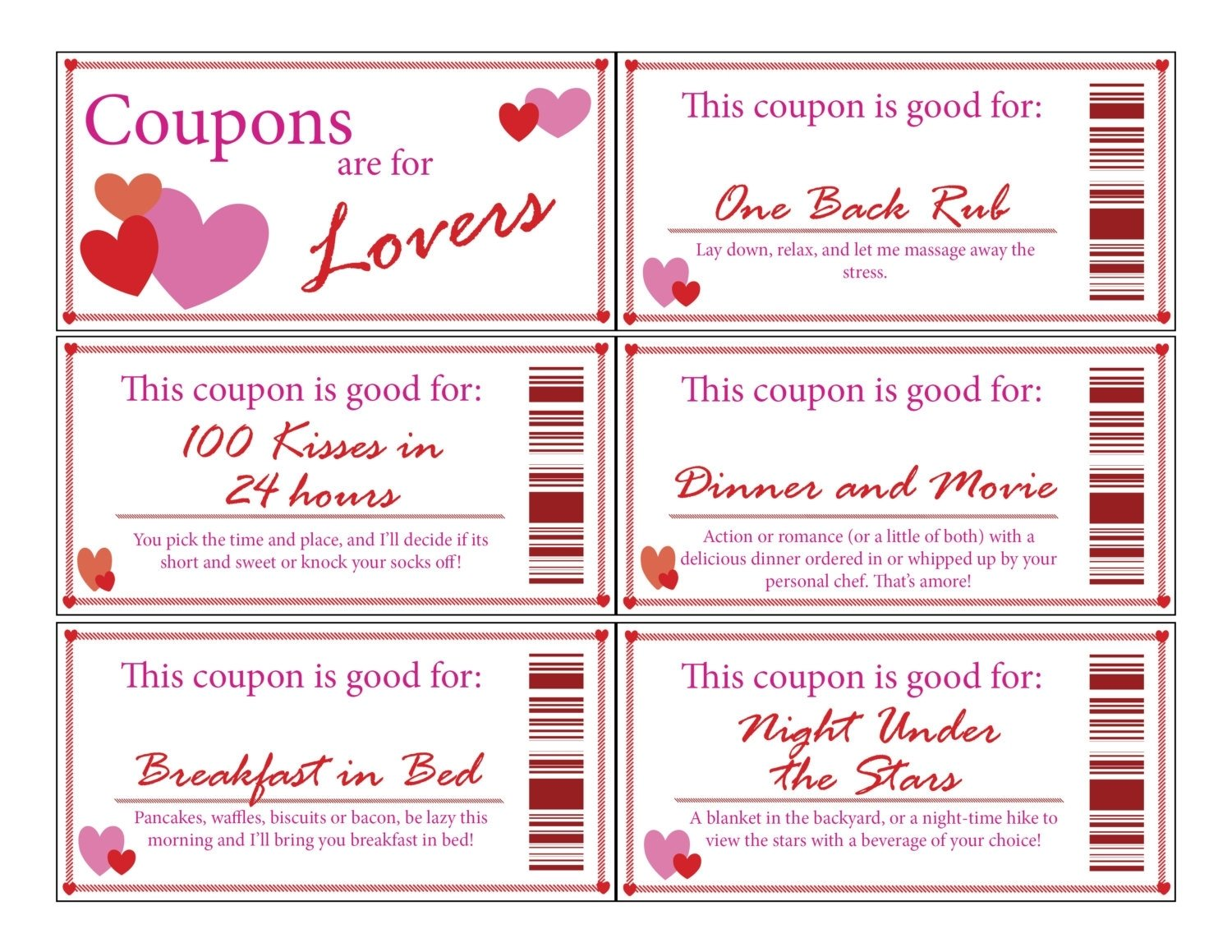 10 Perfect Love Coupon Ideas For Husband coupon book template for husband coles thecolossus co 1 2020