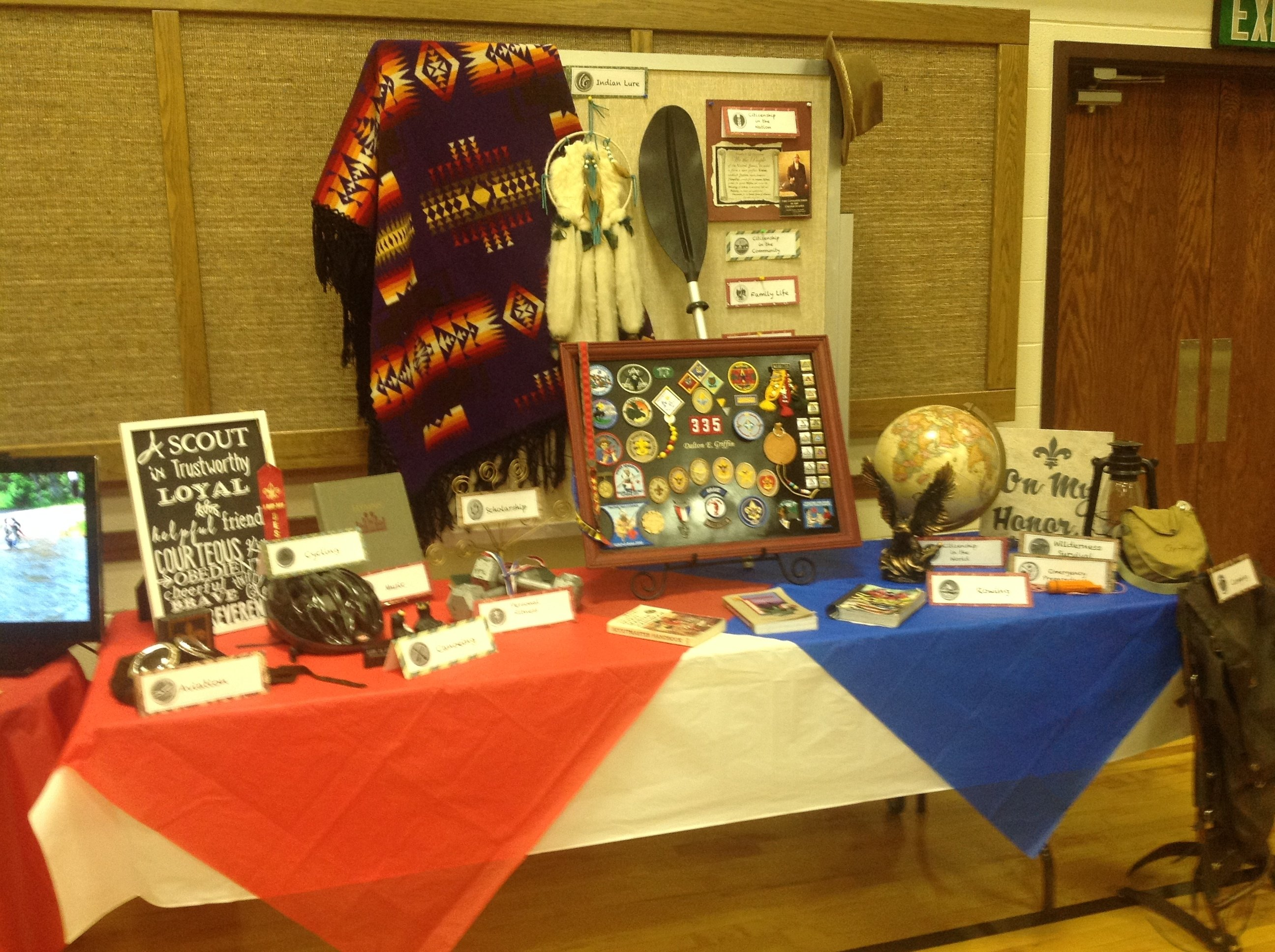 10 Perfect Eagle Court Of Honor Ideas court of honor table displays dime and a prayer 2020