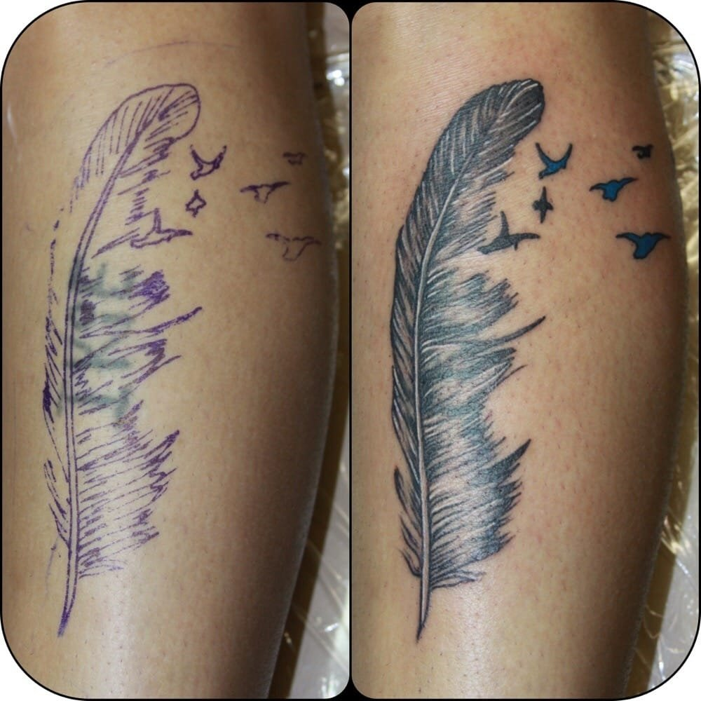 10 Stunning Name Tattoo Cover Up Ideas cover up of a name tattoojosh yelp 4 2021