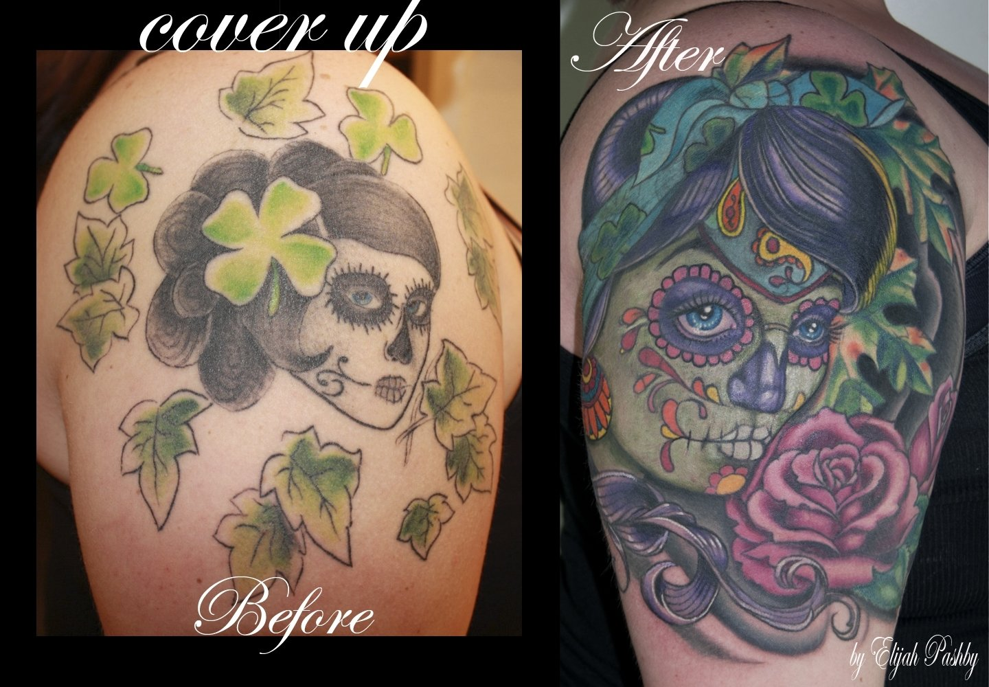 10 Attractive Big Tattoo Cover Up Ideas cover up tattoos amazing tattoo ideas 2020