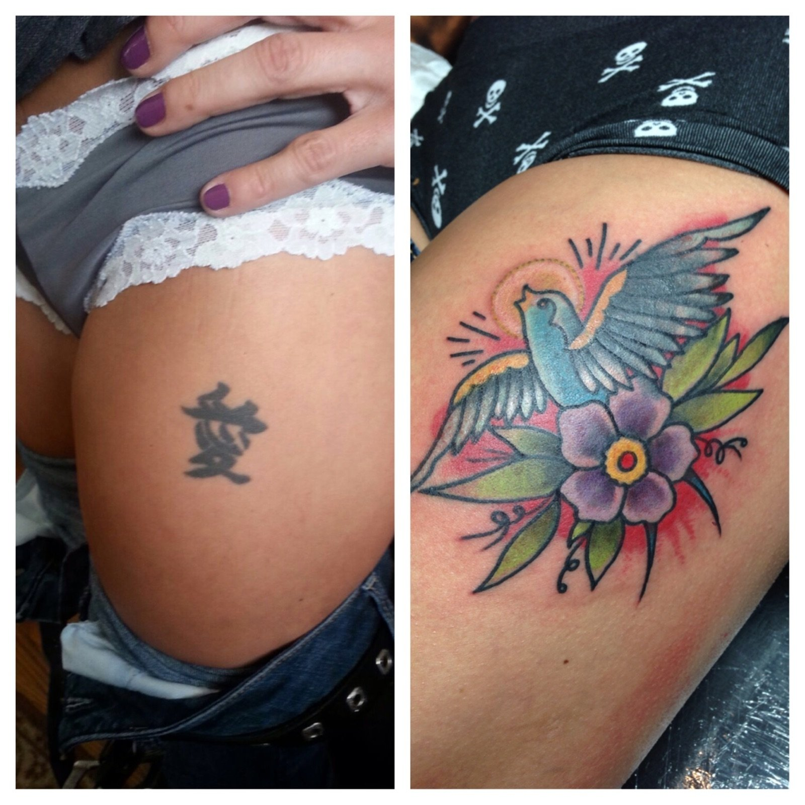 10 Trendy Tattoo Name Cover Up Ideas cover up tattoos royal flesh tattoo and piercing chicago tattoo 2020
