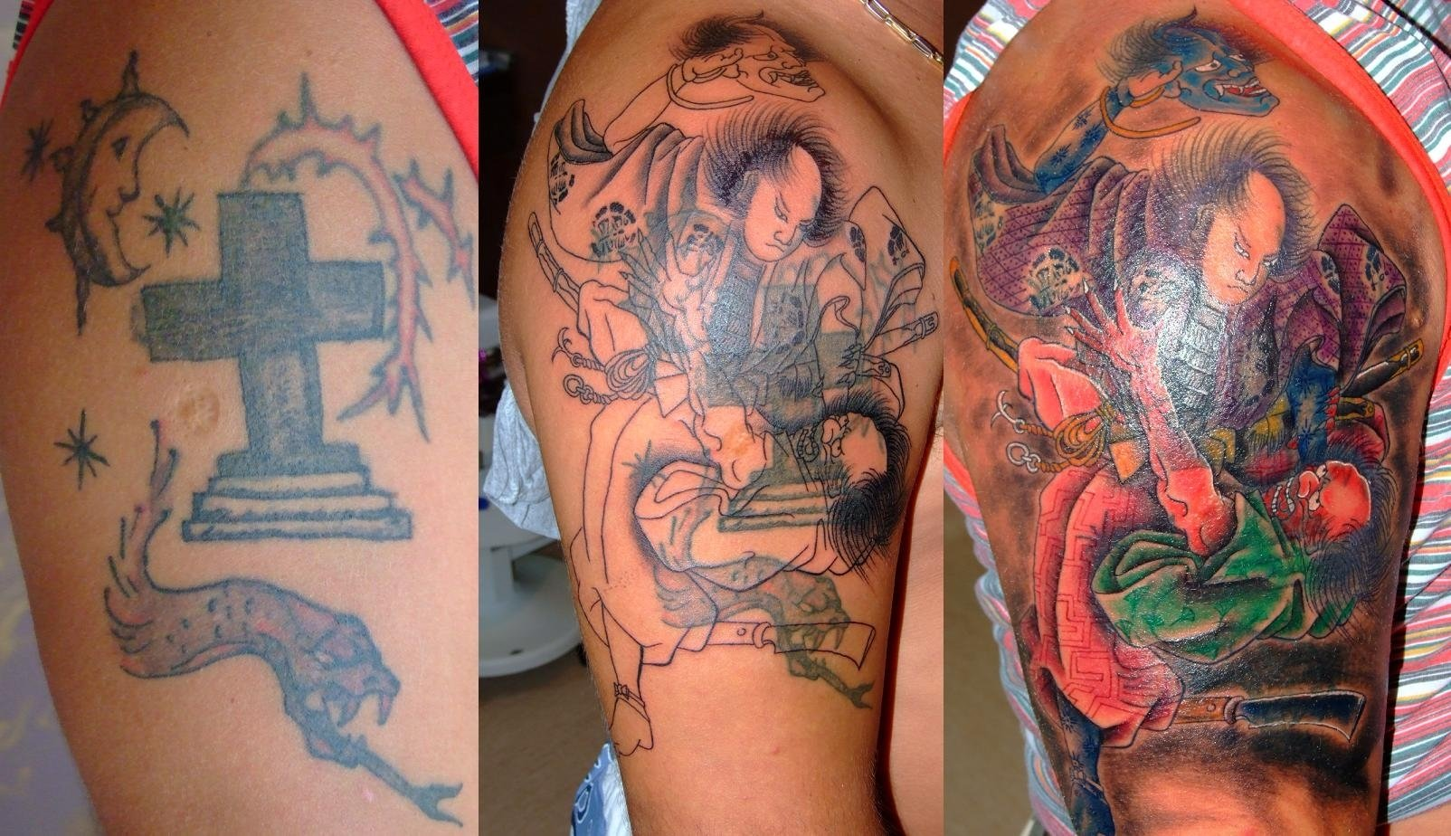 10 Attractive Arm Tattoo Cover Up Ideas cover up tattoos tattoo ideas 1 2020
