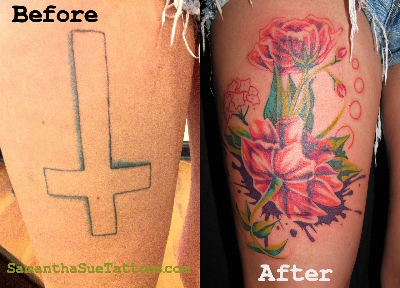 10 Spectacular Cover Up Ideas For Tattoos cover up tattoos tattoo ideas