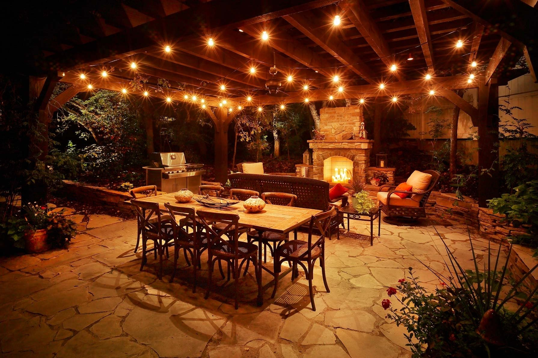10 Amazing Outdoor Lighting Ideas For Patios covered patio lighting ideas backyard patio lighting ideas covered 2020