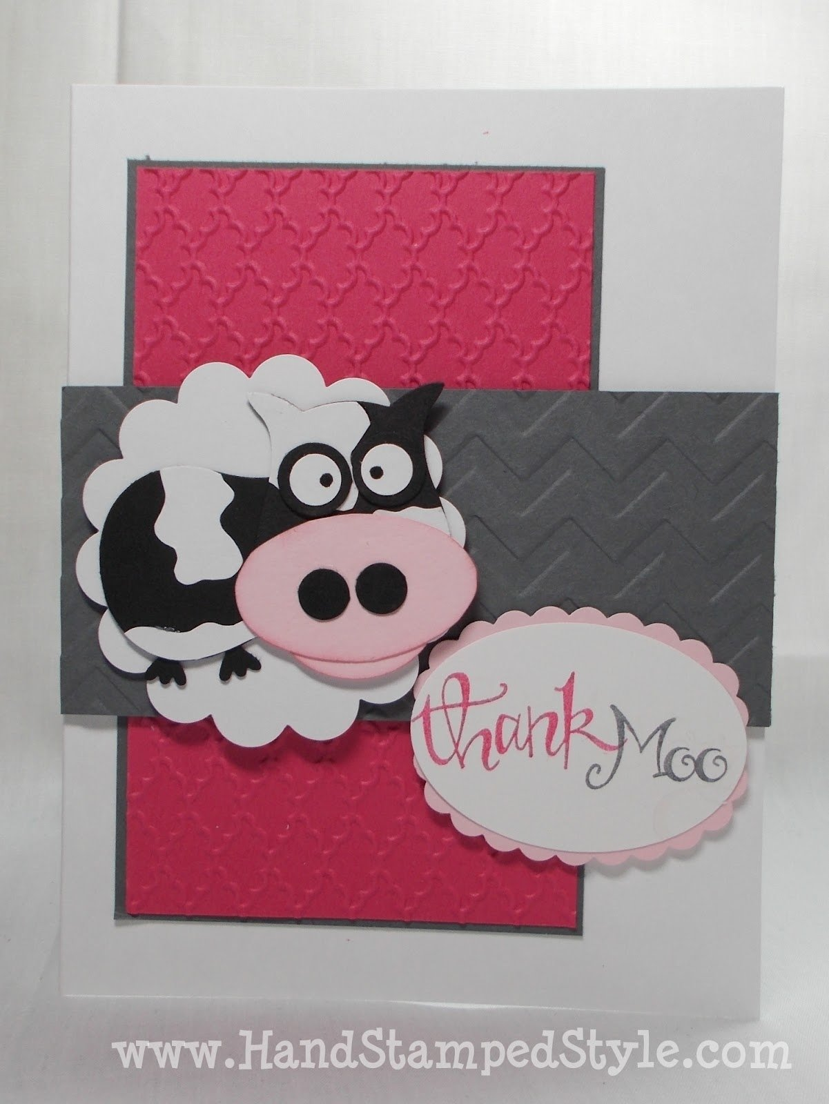 10 Elegant Stampin Up Owl Punch Ideas cow punch art with stampin up owl punch 2020