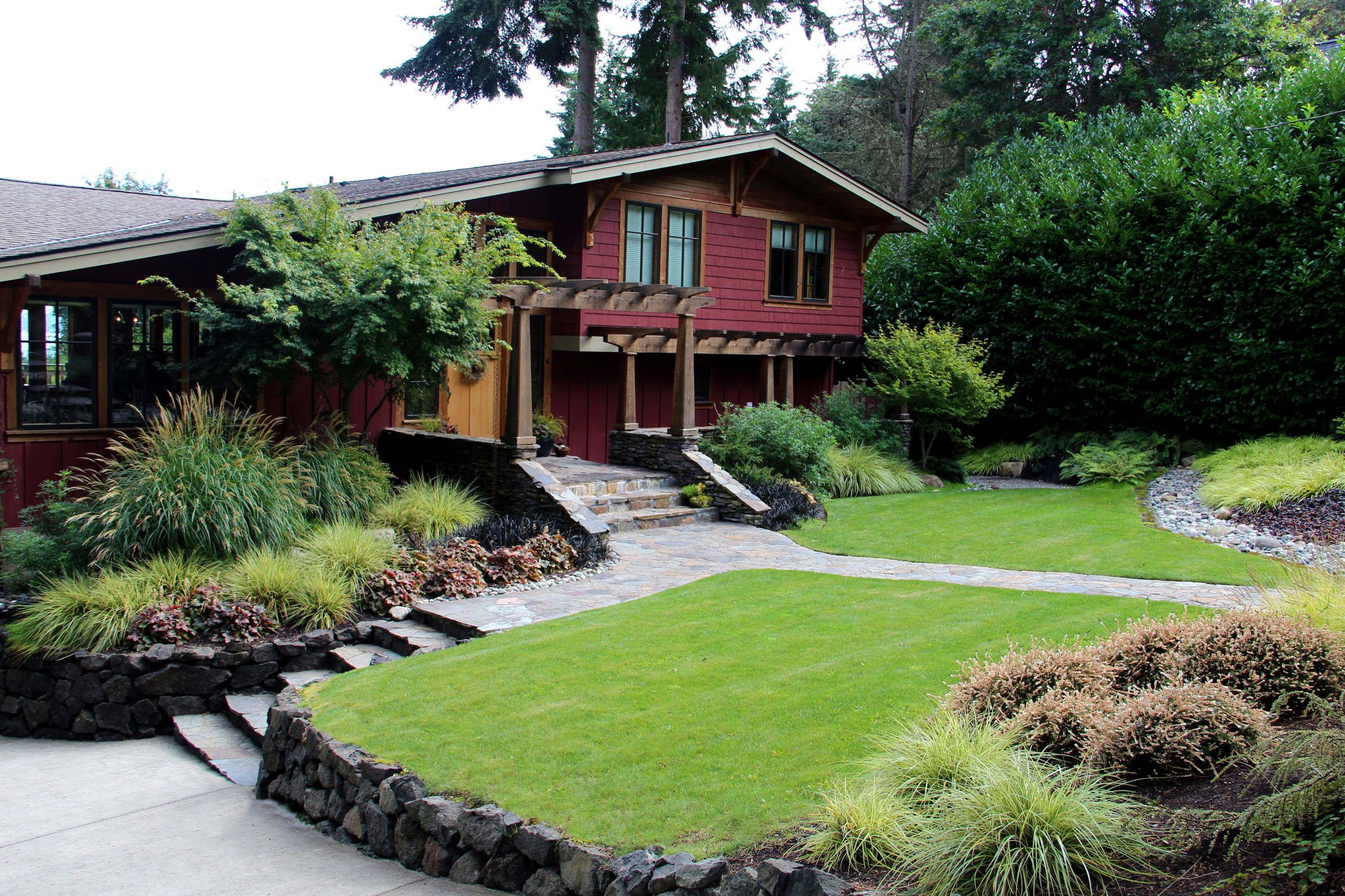 10 Awesome Landscaping Ideas For Split Level Homes 2020 on Split Garden Ideas id=95556