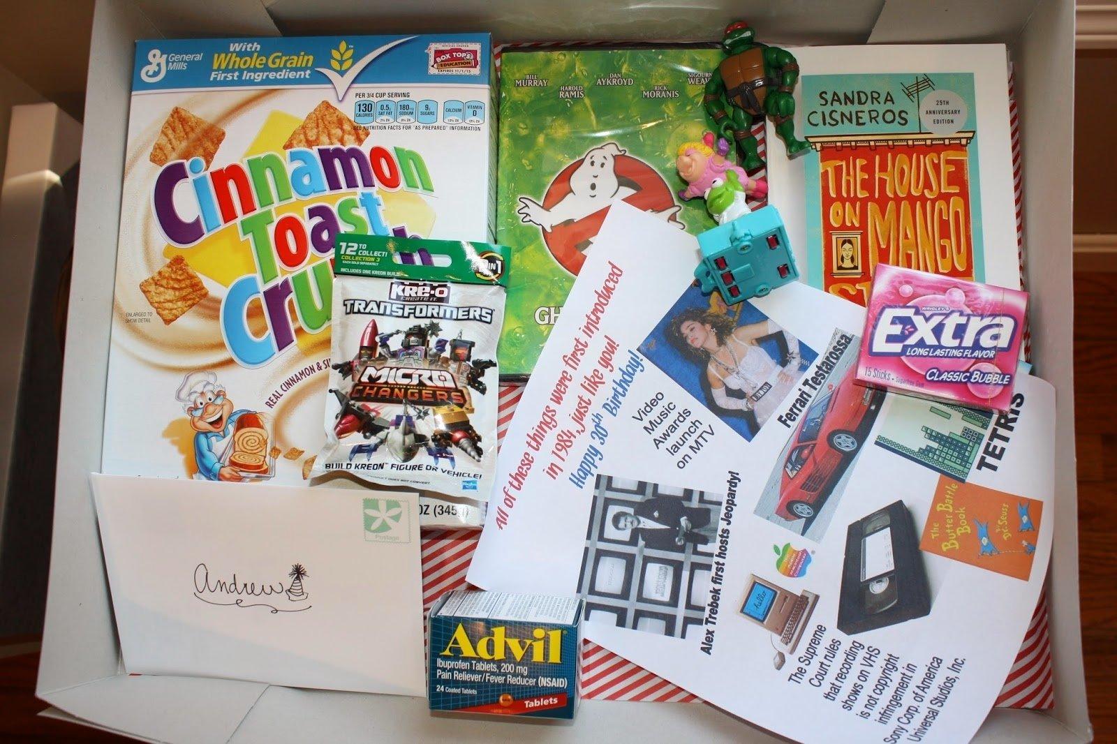 10 Unique 30Th Birthday Gift Ideas Craft E Magee 30th Idea 13