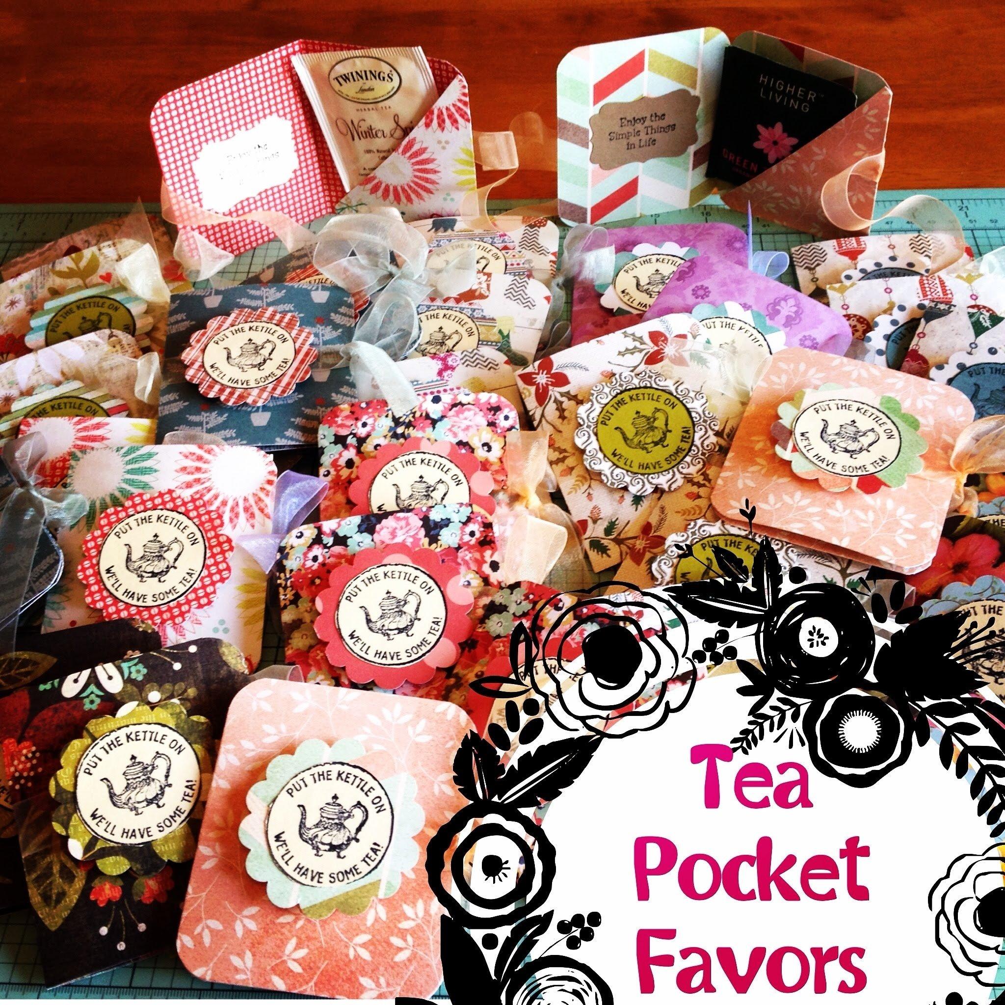 10 Great Craft Fair Ideas To Sell craft fair idea 7 tea pocket favors 2015 youtube 2020