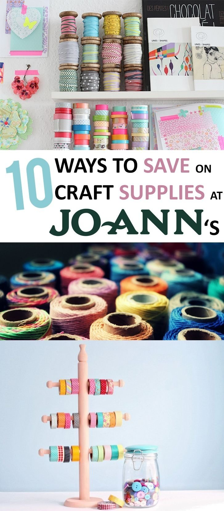 10 Great Money Saving Ideas For Home crafting craft hacks save money frugal crafting frugal crafting