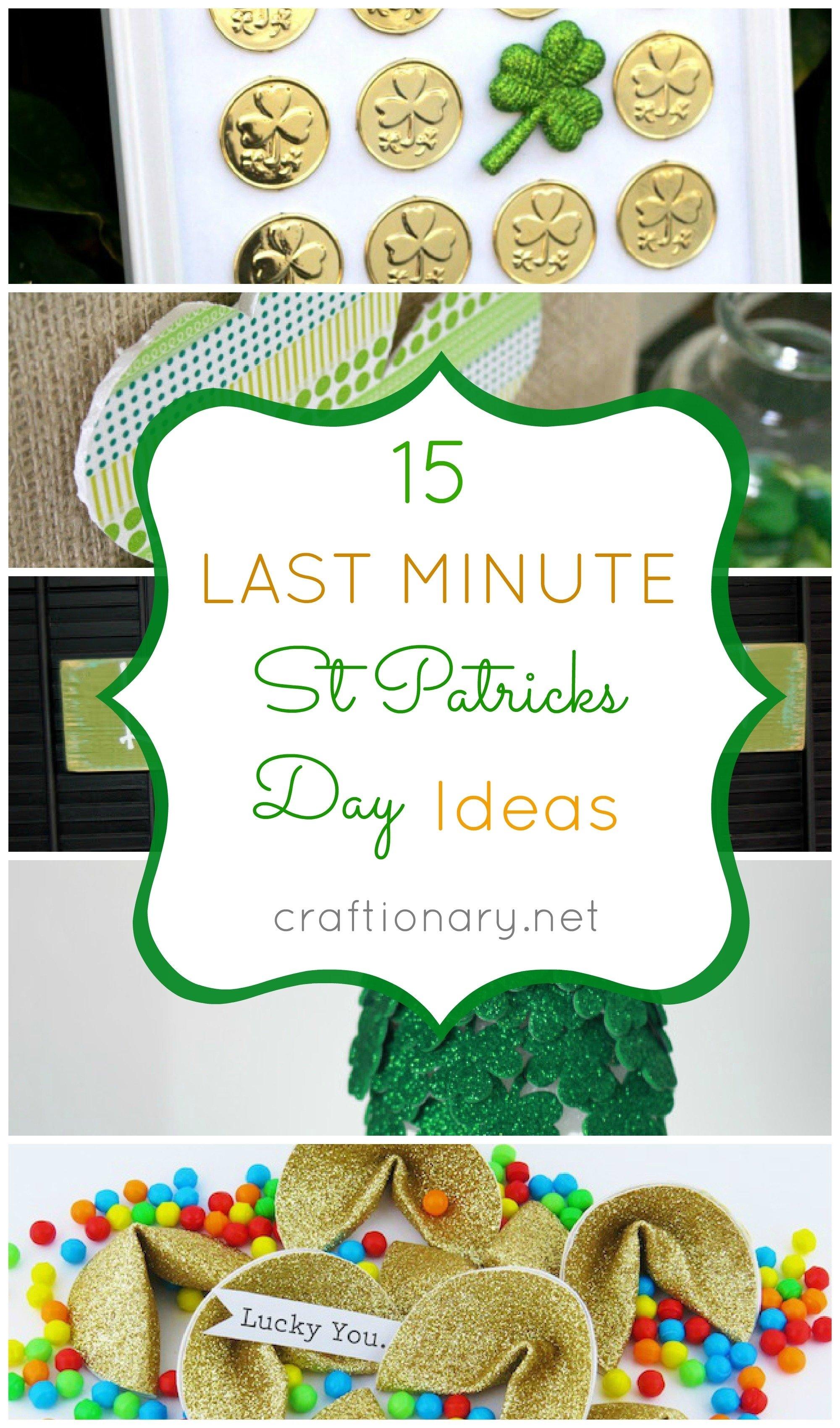 10 Lovable St Patricks Day Craft Ideas craftionary 10 2020