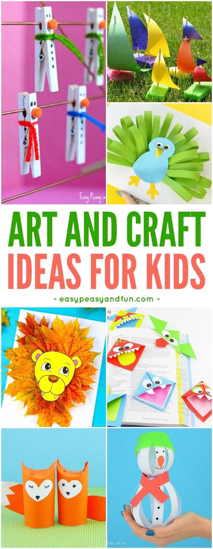 10 unique fun arts and crafts ideas