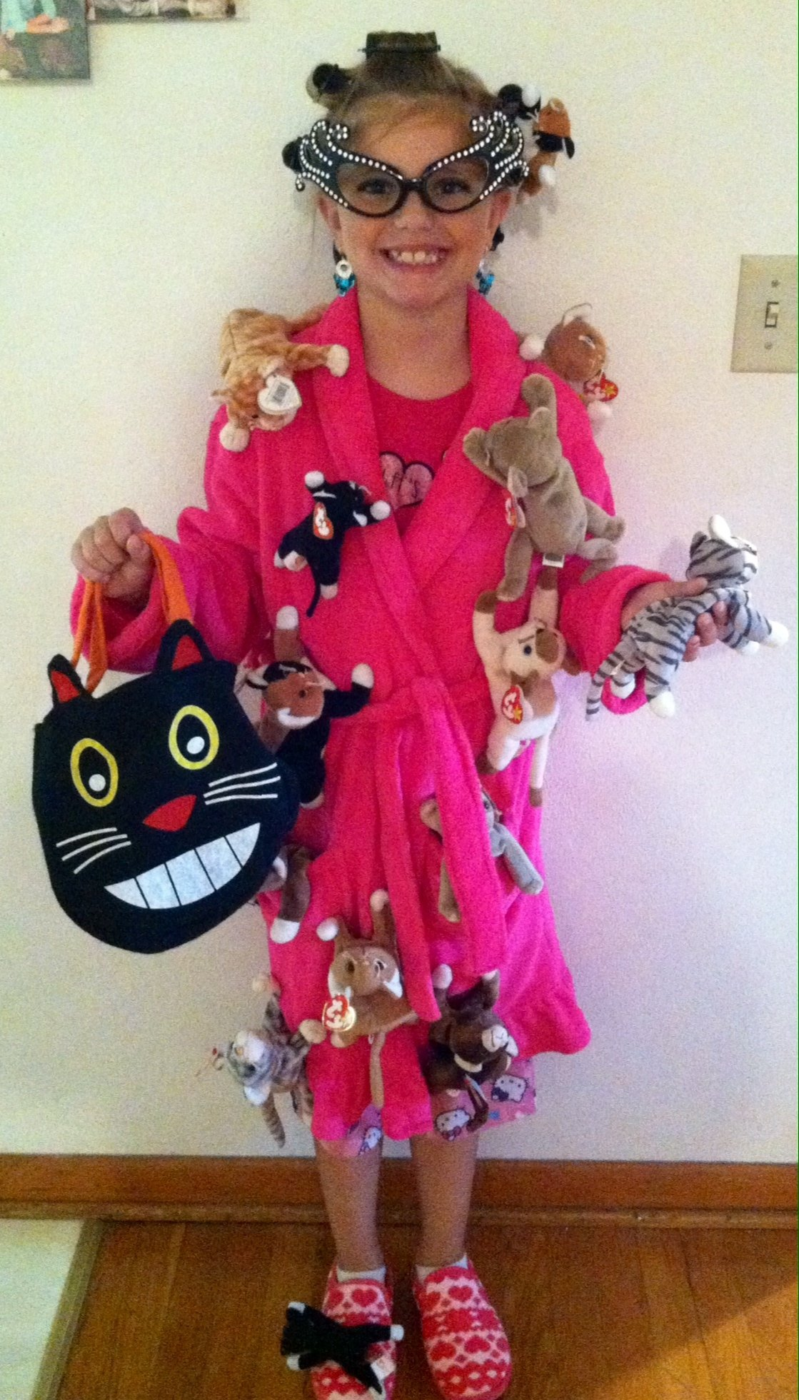 crazy cat lady halloween 2013 i saw this in person!!! such a clever