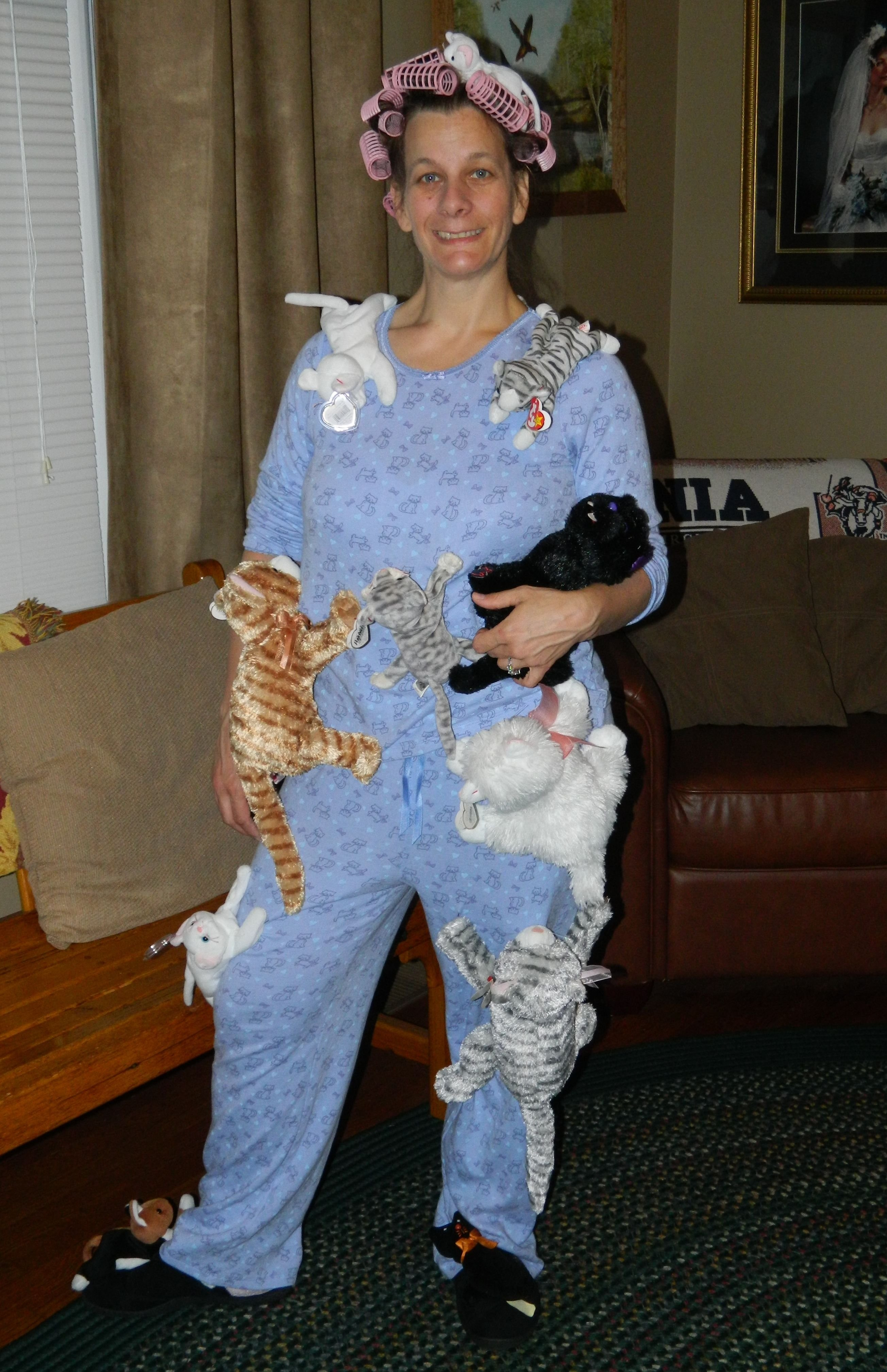 10 Attractive Old Lady Halloween Costume Ideas crazy cat lady wig google search crazy cat lady costume ideas