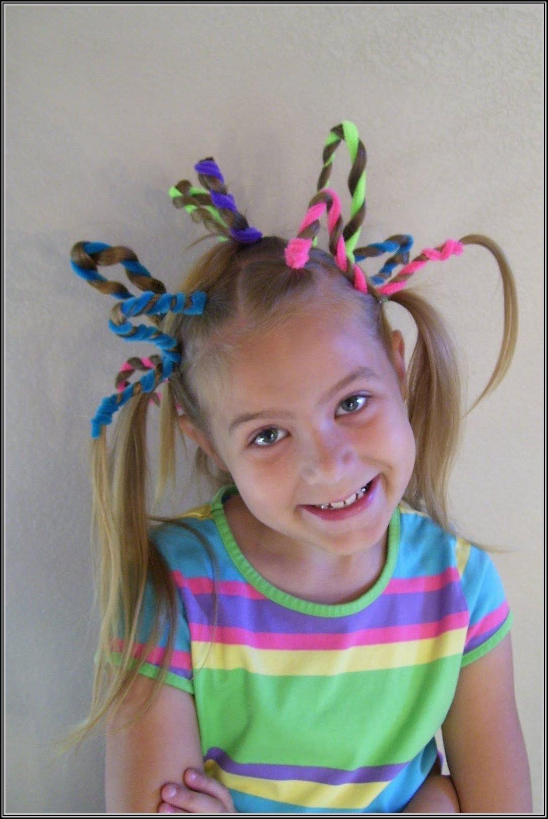 10 Unique Crazy Hair Ideas For Kids crazy hair day ideas for kids kiddos pinterest crazy hair and
