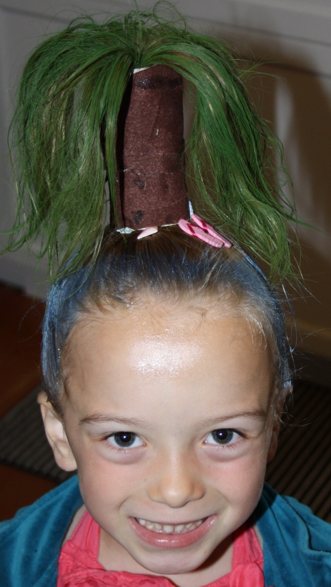 10 Fashionable Crazy Hair Day Ideas For Girls crazy hair day shes a tropical island can you believe we 2 2021