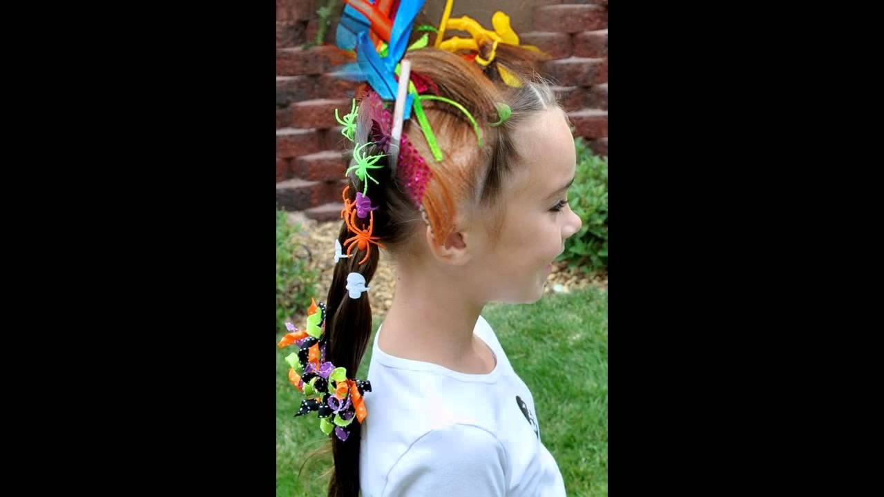10 Unique Crazy Hair Ideas For Kids crazy hair ideas for kids youtube
