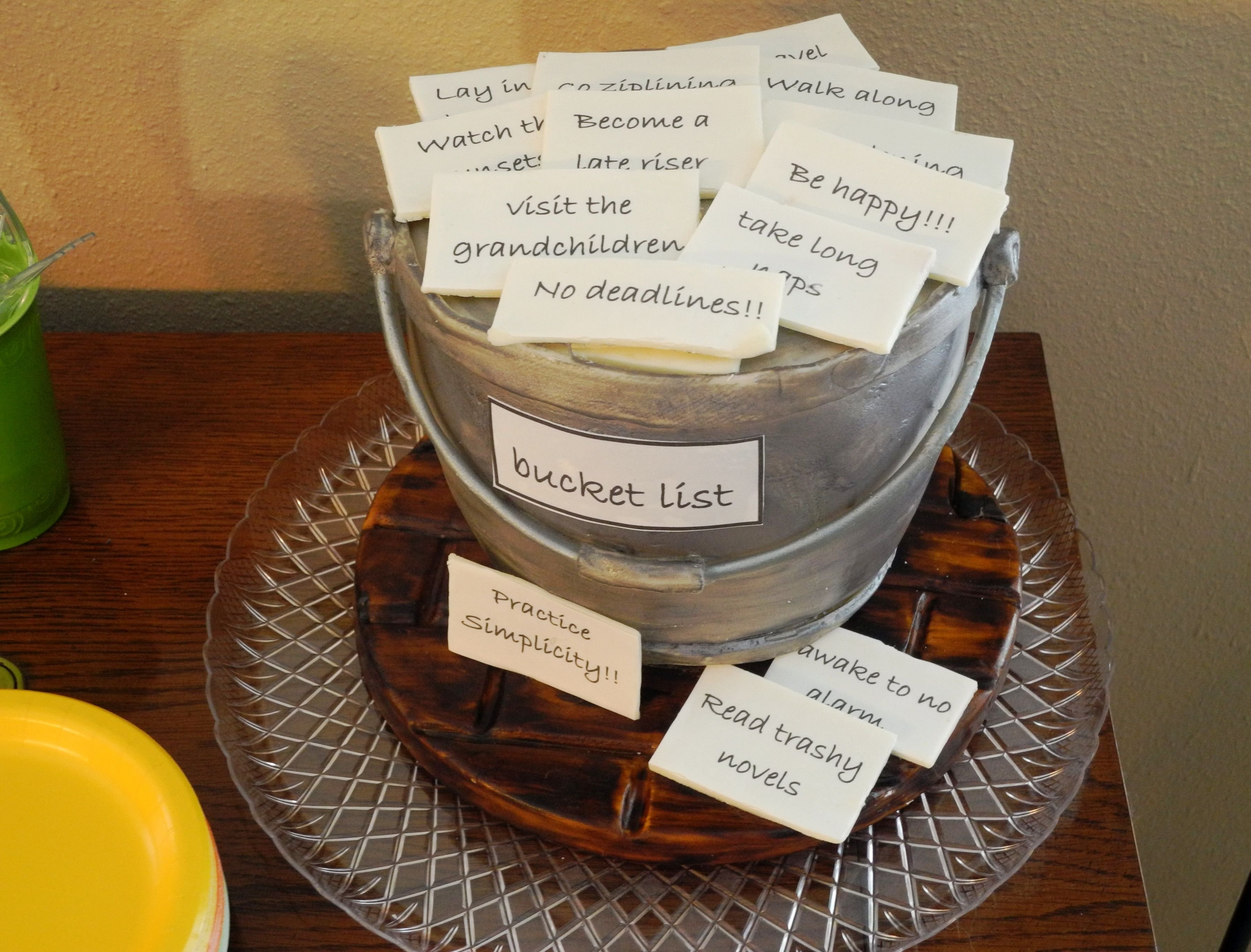 10 Most Recommended Ideas For A Retirement Party create bucket list what should joan do now that shes retired 2020