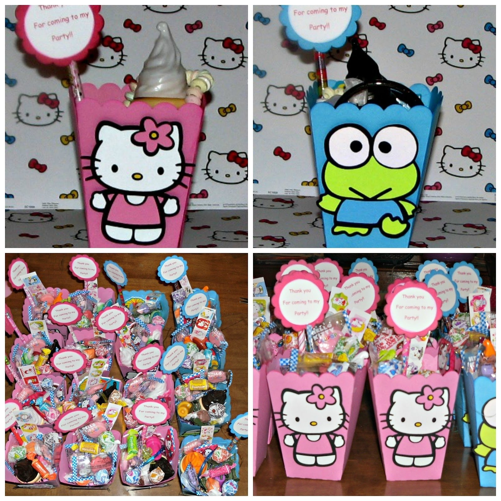 10 Lovable Hello Kitty Party Favor Ideas creationscolleen hello kitty birthday party 2020