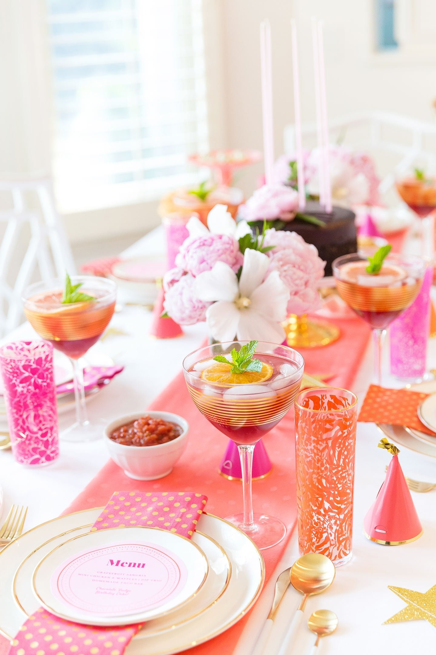 10 Fabulous Pink Party Ideas For Adults creative adult birthday party ideas for the girls food decor 5 2021