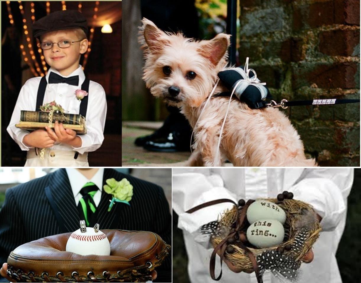 10 Beautiful Ring Bearer Ideas Alternatives To Pillow creative alternatives to a ring bearer pillow weddingrings 2020