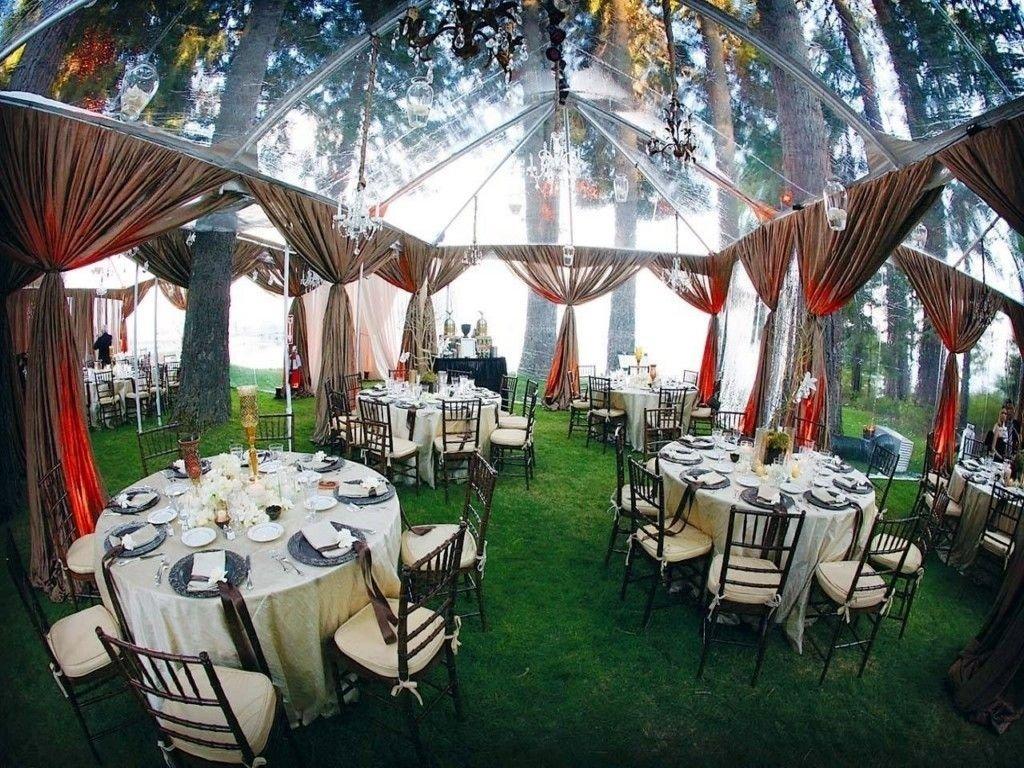 creative and beautiful backyard wedding ideas - http://femeiasimpla