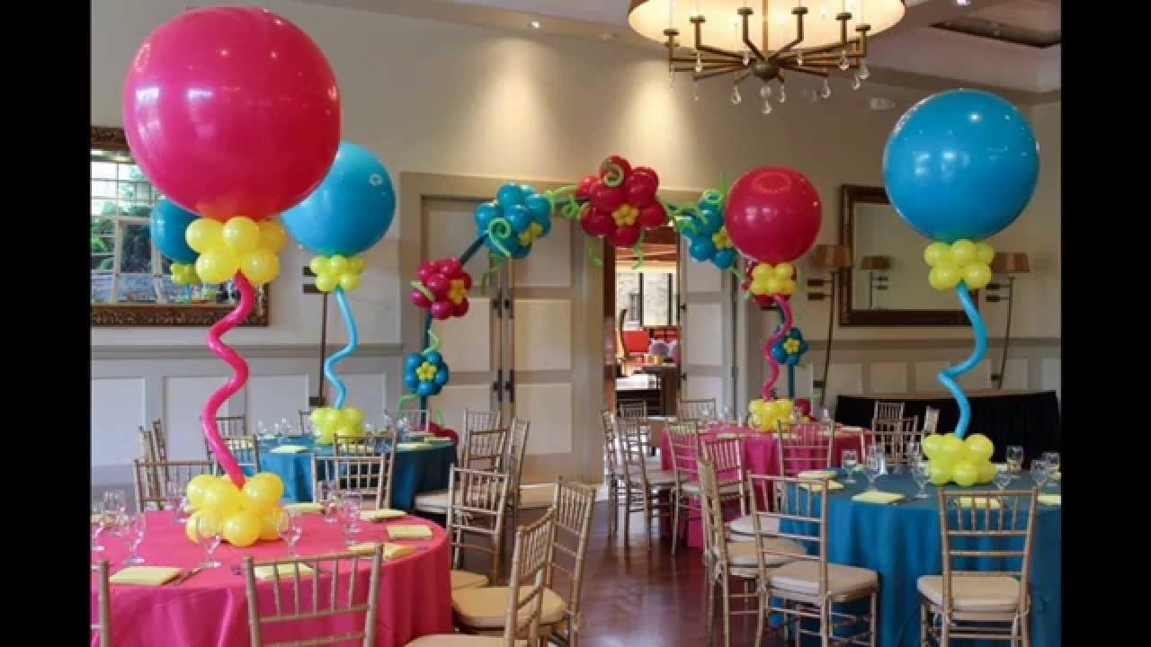 10 Fashionable Cute Baby Shower Decoration Ideas creative baby shower balloon decorating ideas youtube 1 2020