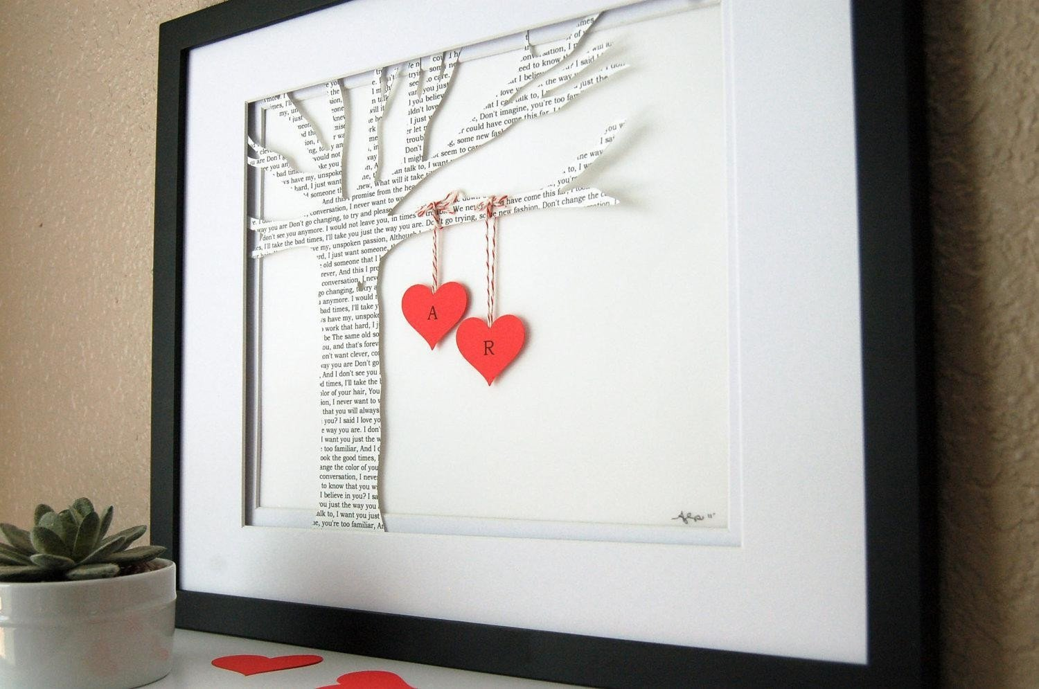 10 Beautiful 2Nd Year Wedding Anniversary Gift Ideas creative cotton gift ideas picture gallery website 2nd wedding 7 2021