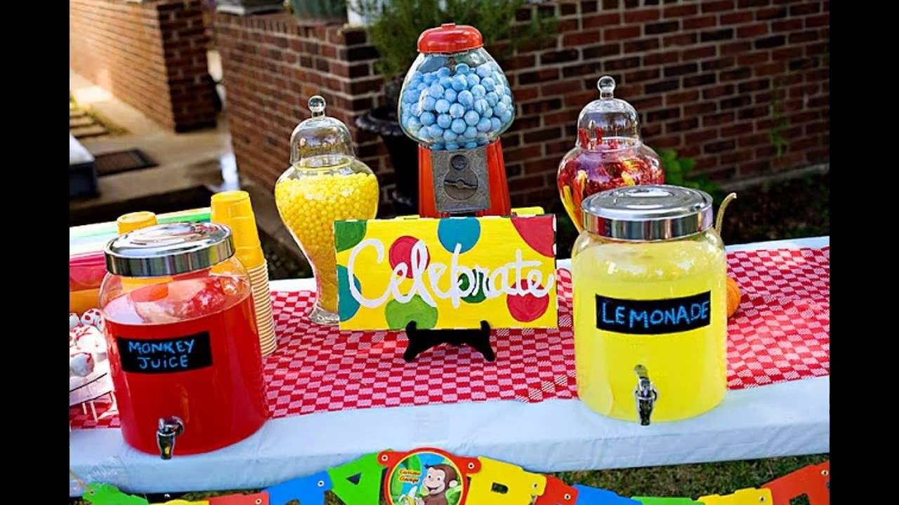 10 Awesome Curious George Party Favor Ideas creative curious george party decorations ideas youtube 2020