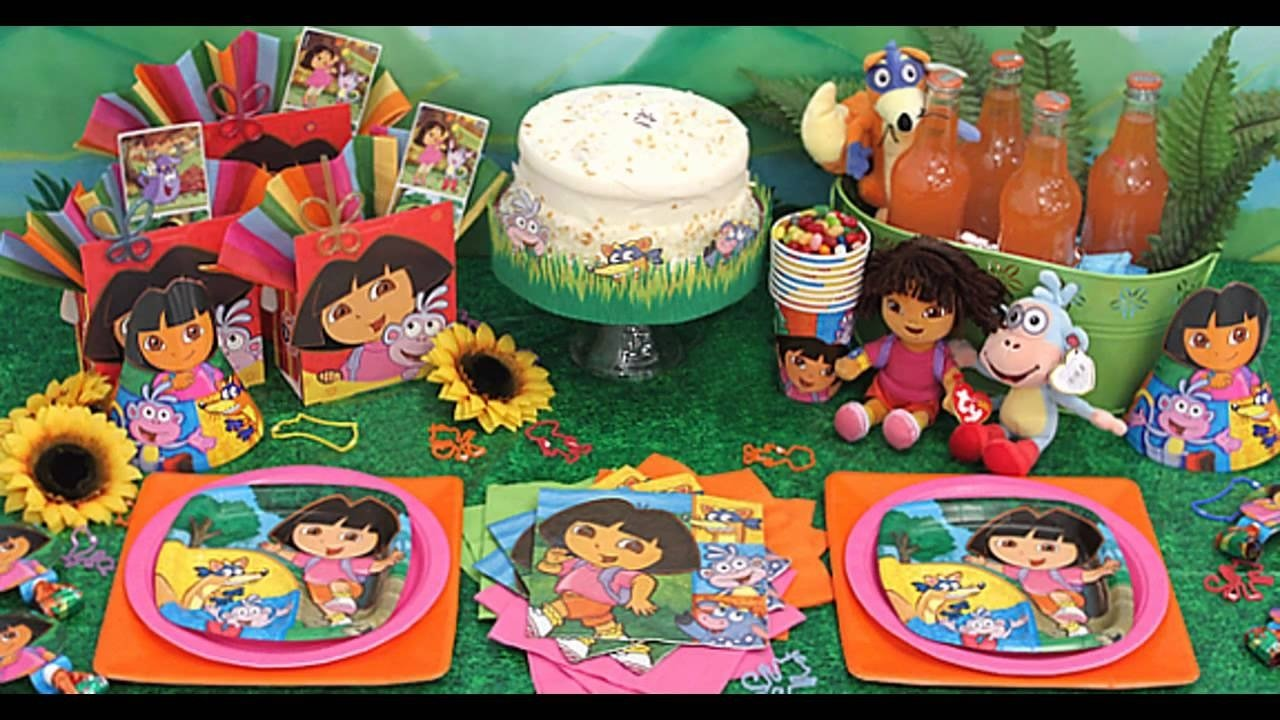 10 Lovable Dora The Explorer Party Ideas creative dora the explorer party decorations ideas youtube