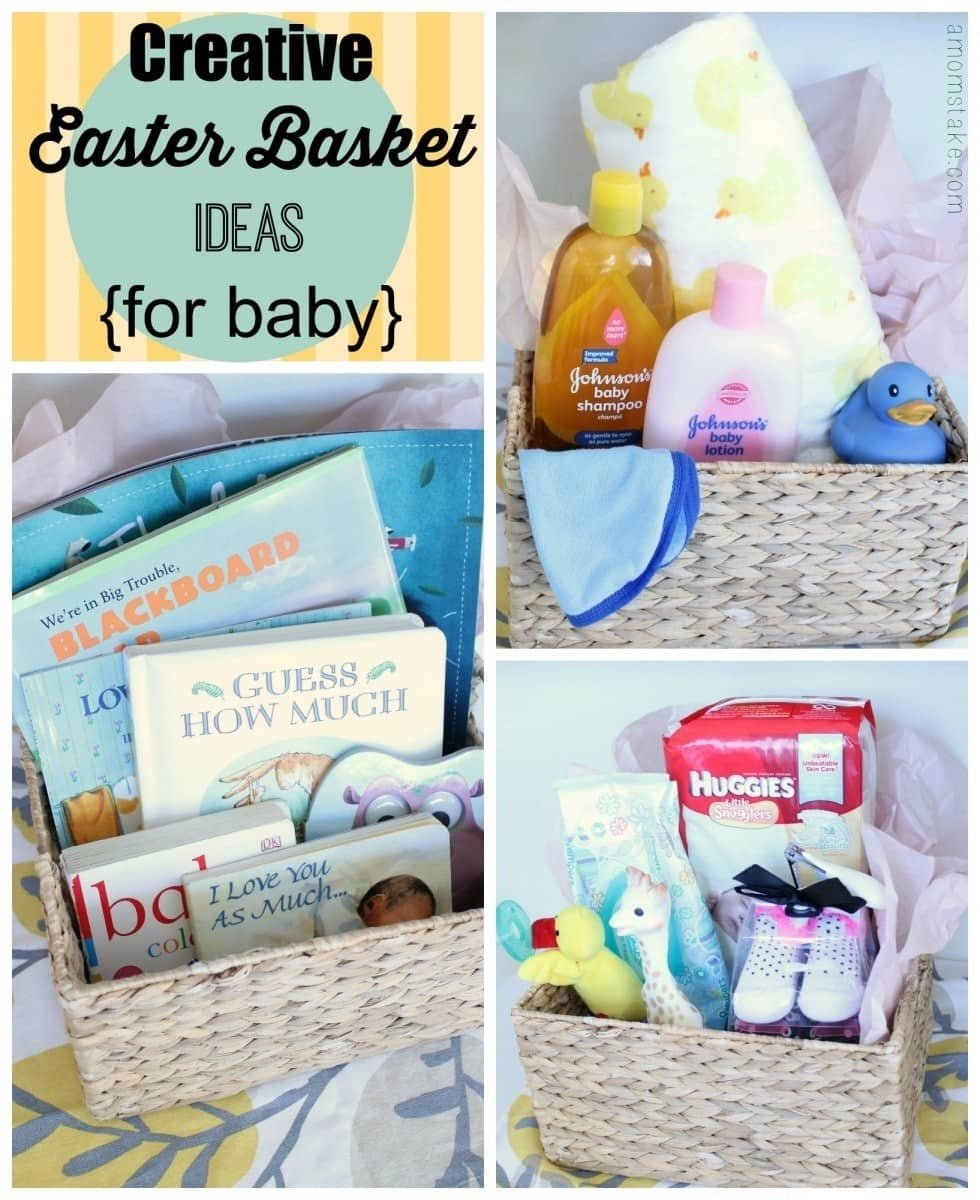 10 Great Easter Basket Ideas For Babies creative easter basket ideas for baby a moms take 2021