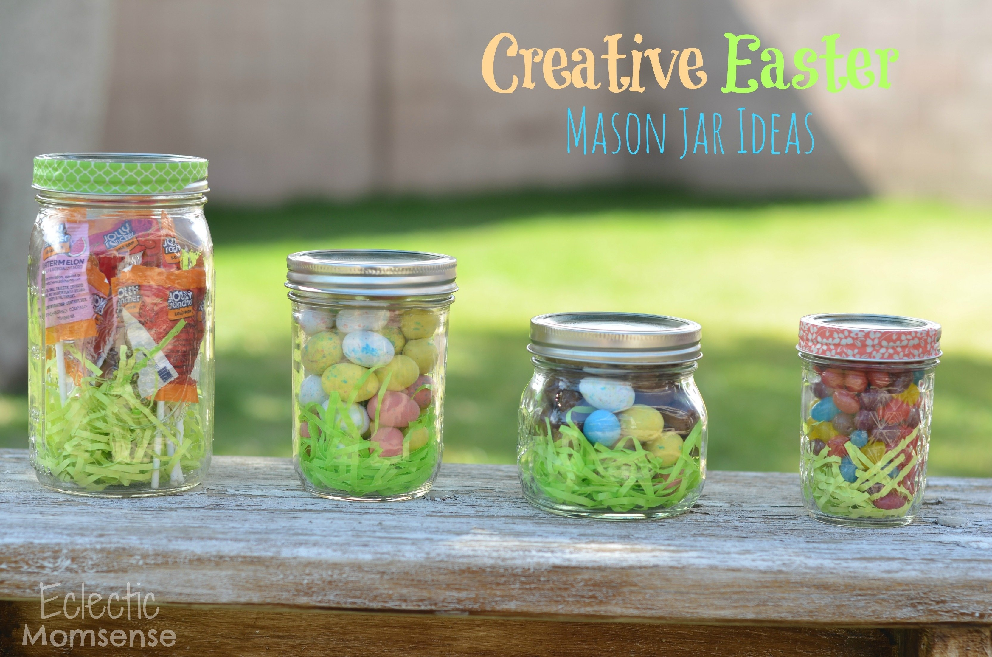 creative easter mason jar ideas & a giveaway - eclectic momsense