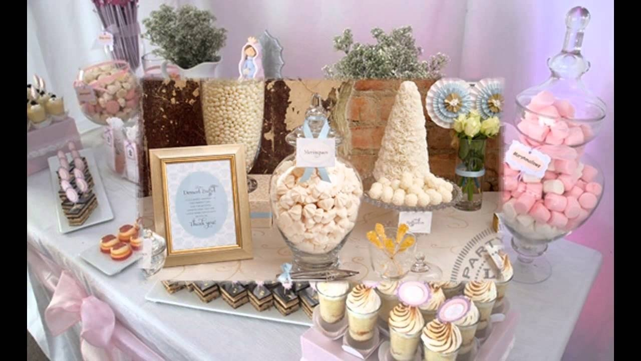 creative first communion party decorations ideas - youtube