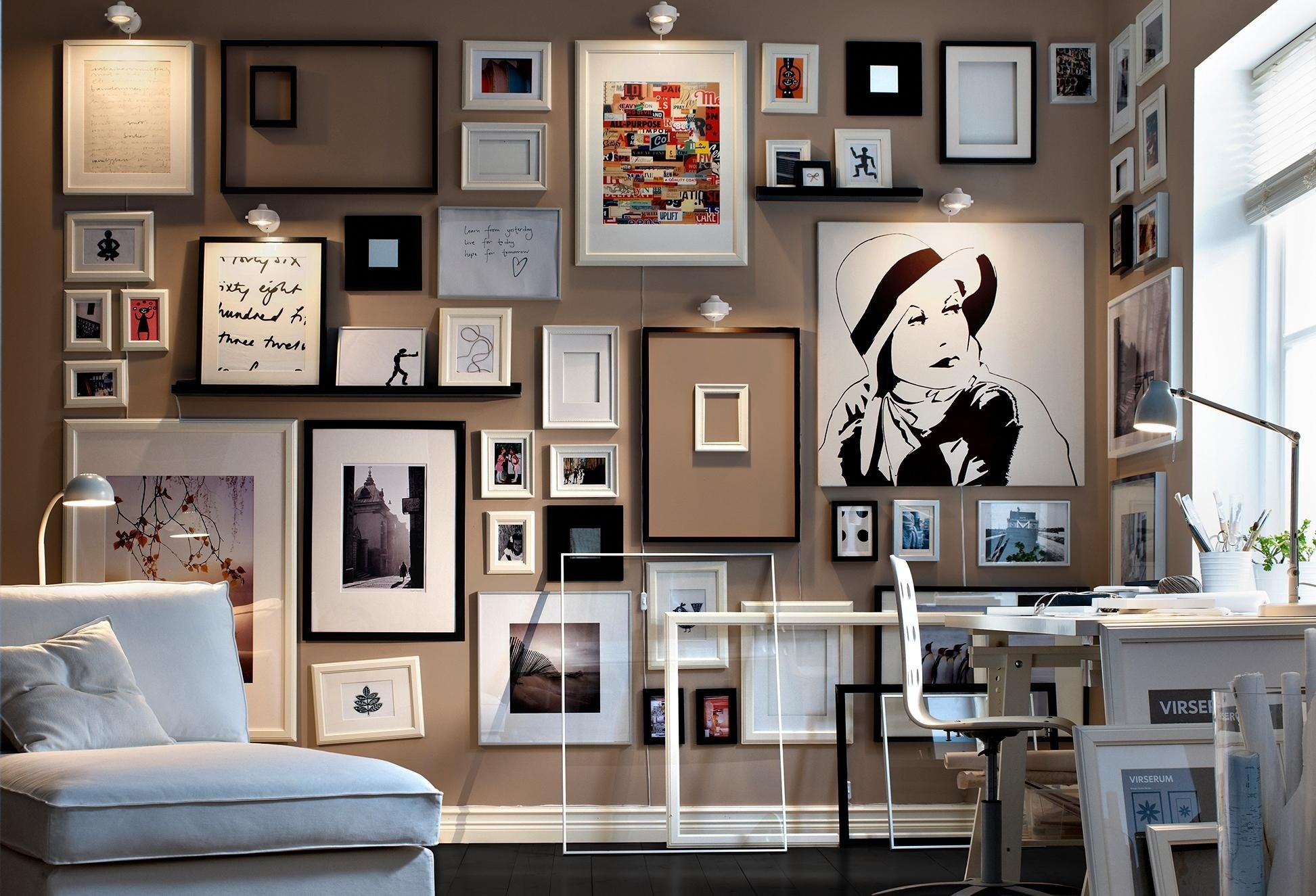 10 Attractive Ideas For Hanging Pictures On Walls creative gallery wall ideas template layout decoration small with 2020