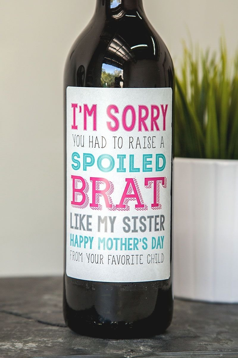 10 Trendy Creative Ideas For Mothers Day creative gift for your mom this mothers day wine mom holidays 2020